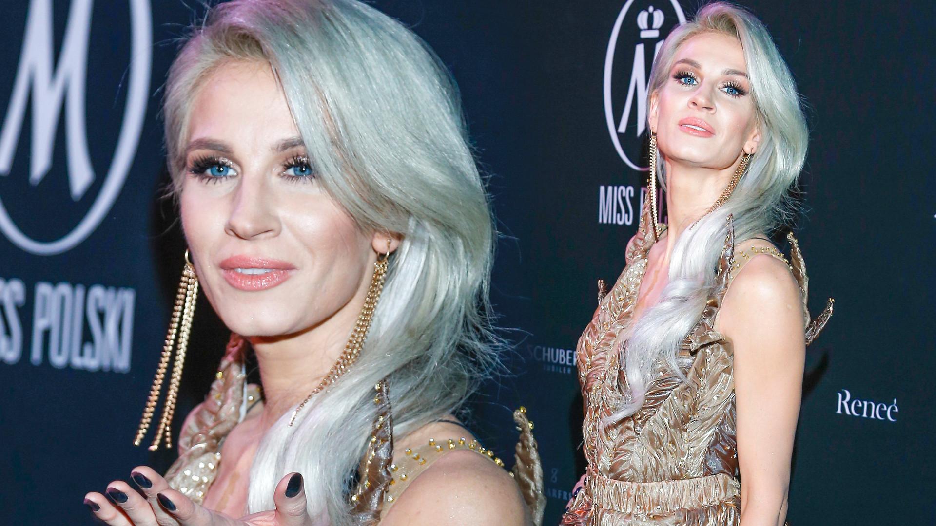Sylwia Grzeszczak jak królowa w dwóch sukniach od polskich projektantek na gali Miss Polski (ZDJĘCIA)