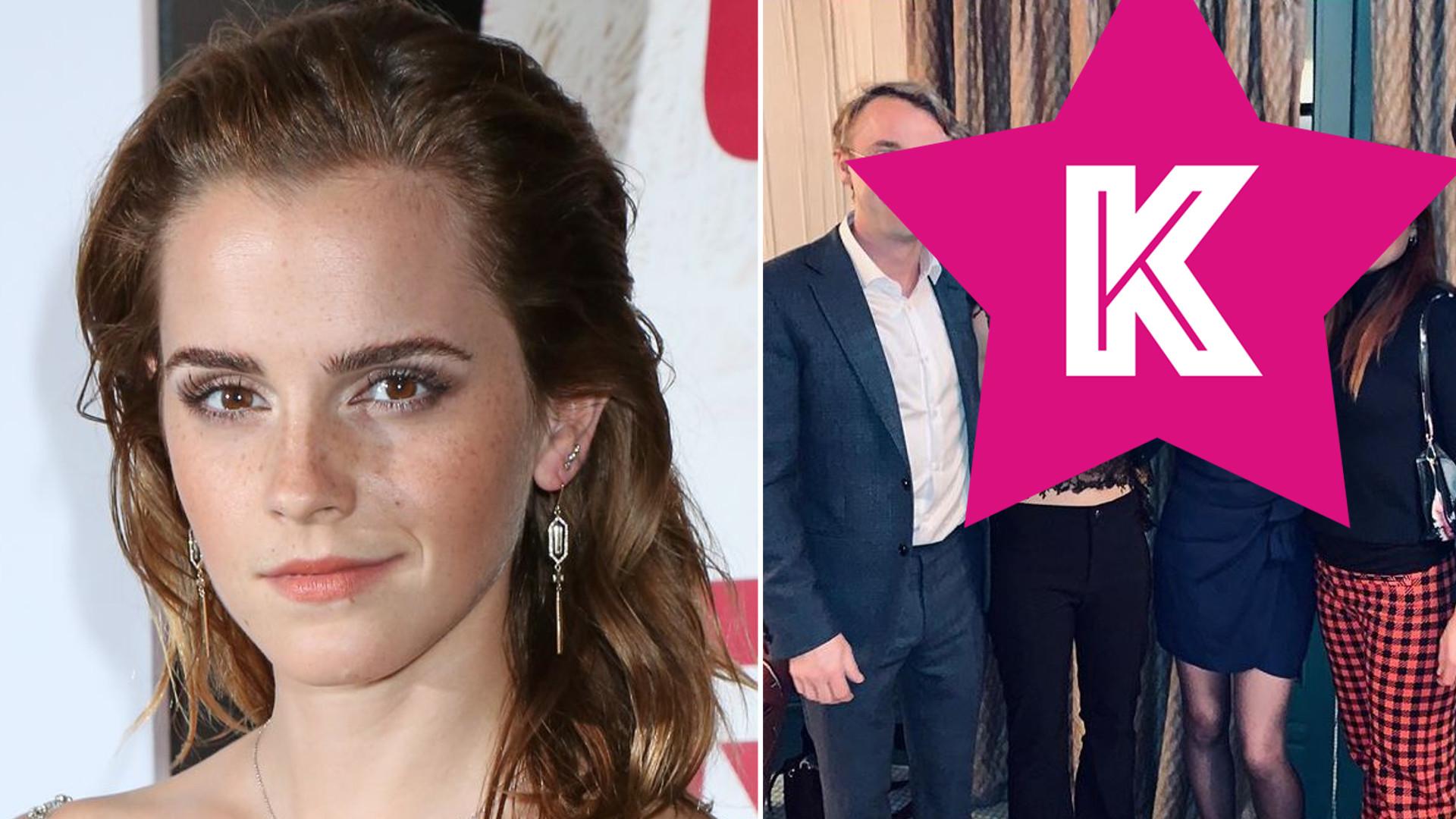 Emma Watson zorganizowała spotkanie świąteczne dla przyjaciół z Harry'ego Pottera!