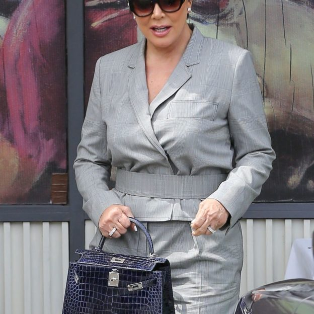 *EXCLUSIVE* Kris Jenner is seen out with mom Mary Jo for brunch Kris Jenner