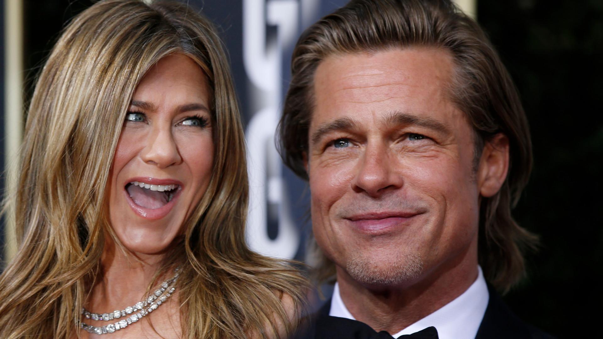 Brad Pitt w końcu wyznał, co go łączy z Jennifer Aniston!