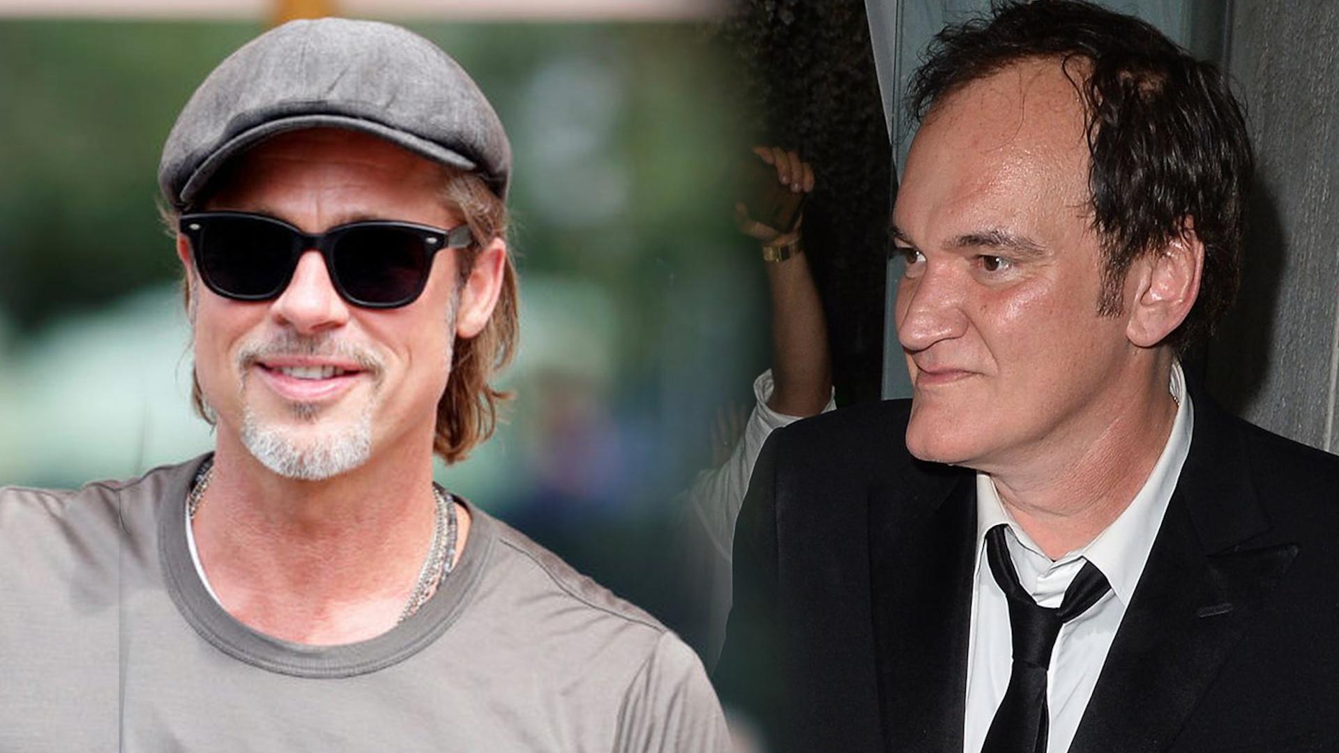 Brad Pitt chyba za MOCNO zażartował z Quentina Tarantino. Jego wypowiedź wywołała poruszenie