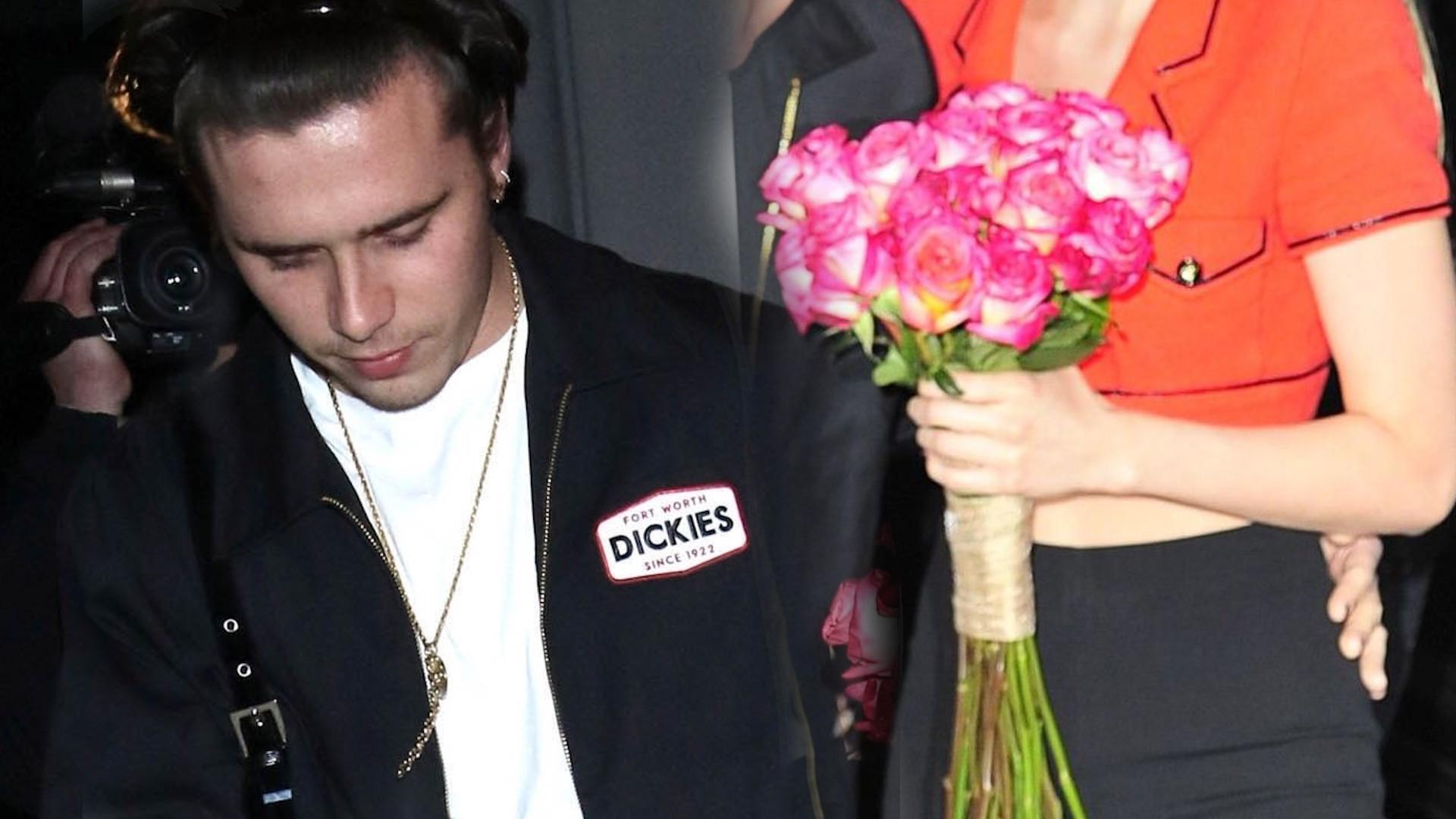 Brooklyn Beckham OFICJALNIE pokazał się z dziewczyną przed paparazzi (ZDJĘCIA)