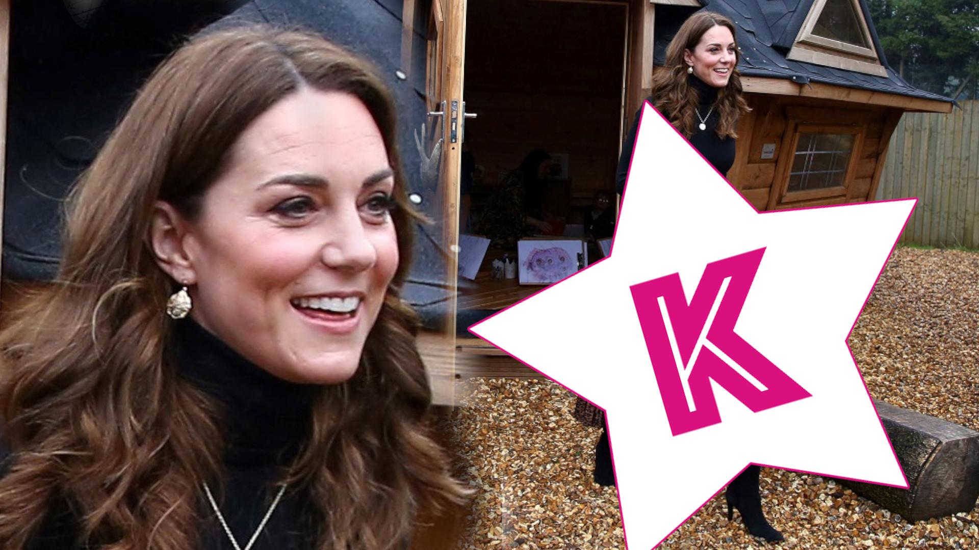 Księżna Kate w spódnicy z ZARY, którą dziewczyny już dawno pokochały