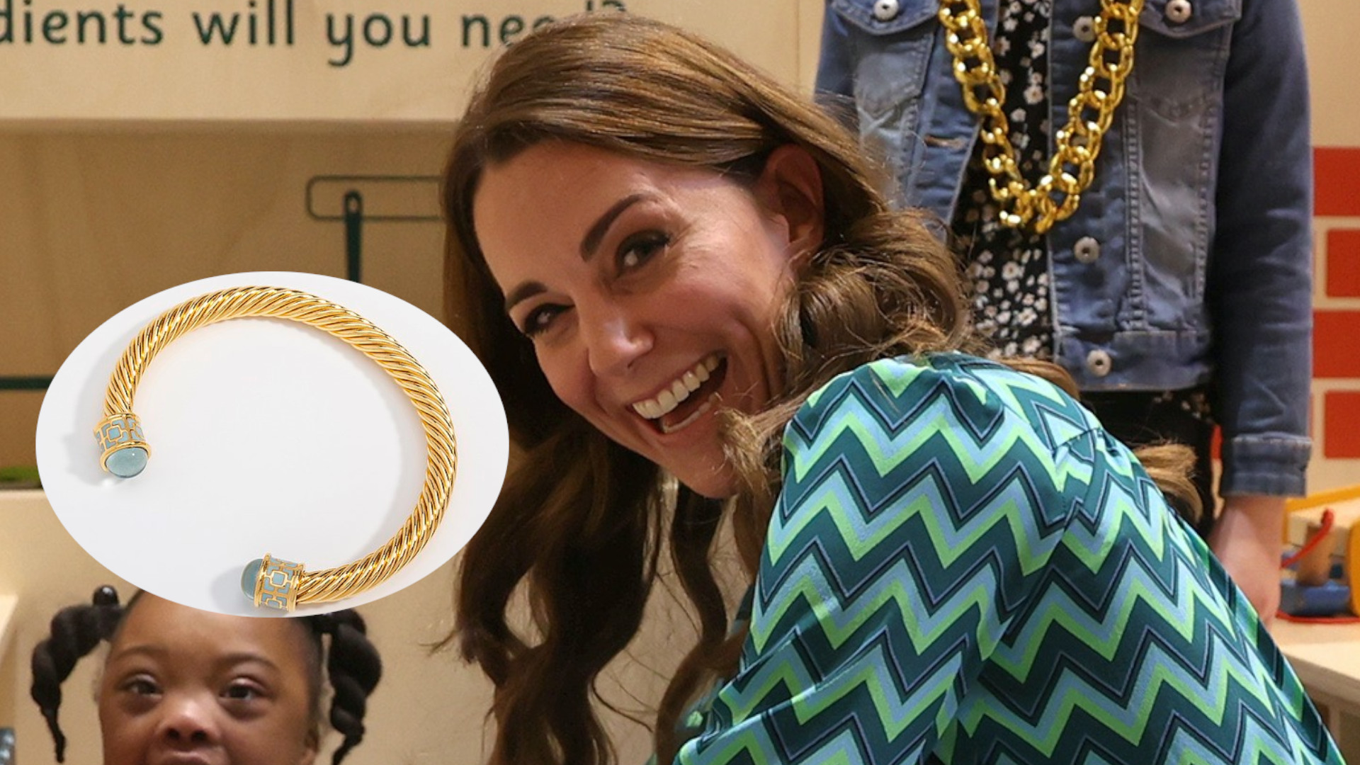 Czy to prezent od Williama? Księżna Kate pokazała nową bransoletkę