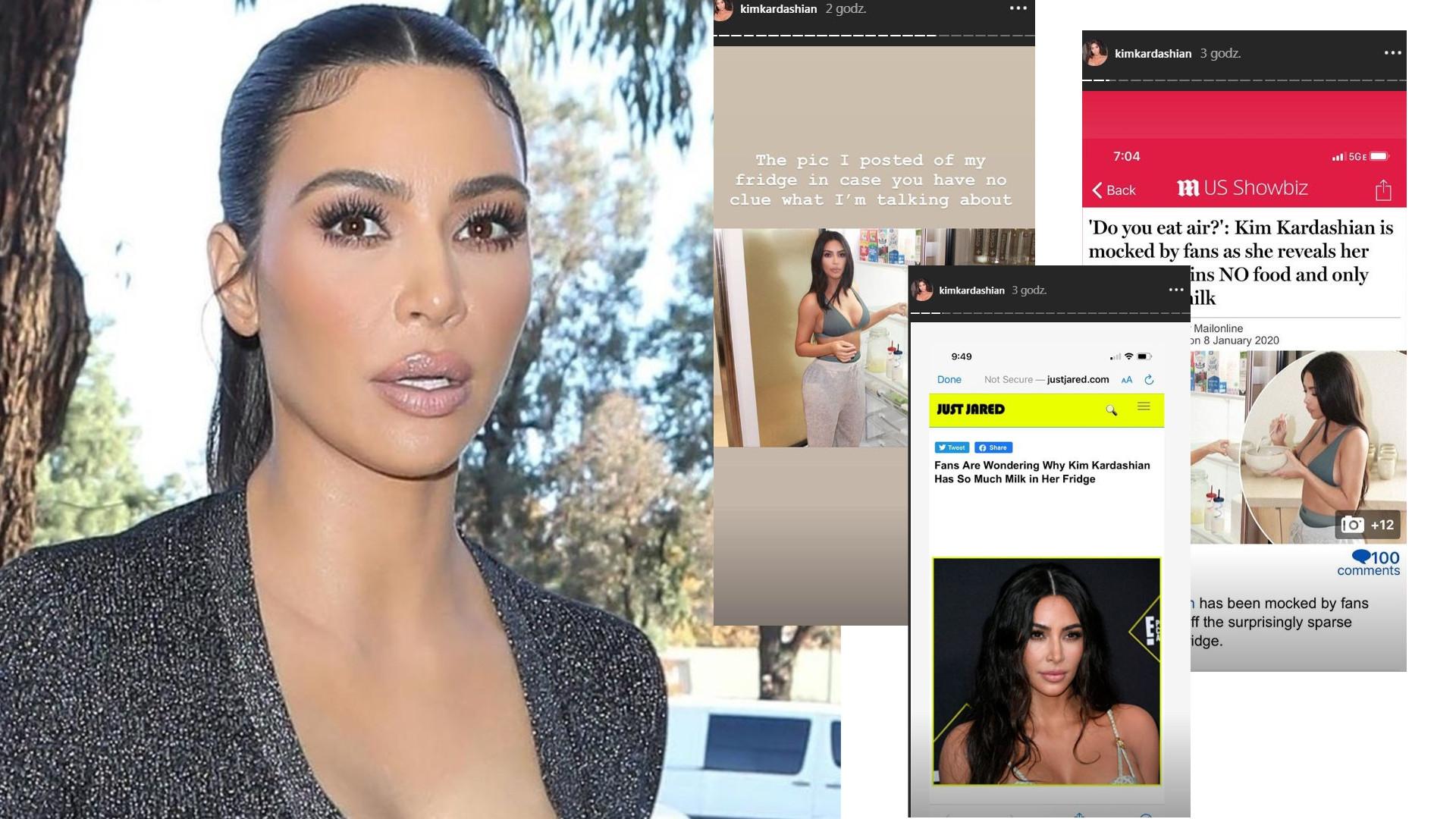 SPADNIESZ Z KRZESŁA, gdy zobaczysz, jak wyglądają LODÓWKI i SPIŻARNIE Kim Kardashian