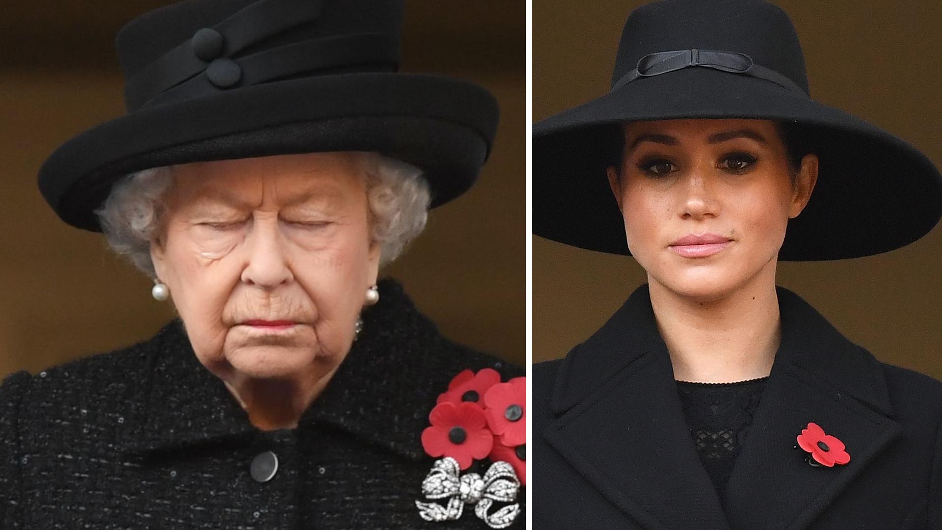 Królowa ZABRONIŁA księżnej Meghan dzwonić w czasie spotkania? Bała się podsłuchu?