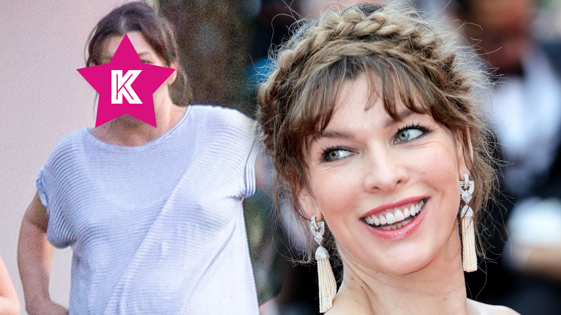 45-letnia Milla Jovovich źle znosi końcówkę ciąży (ZDJĘCIA)