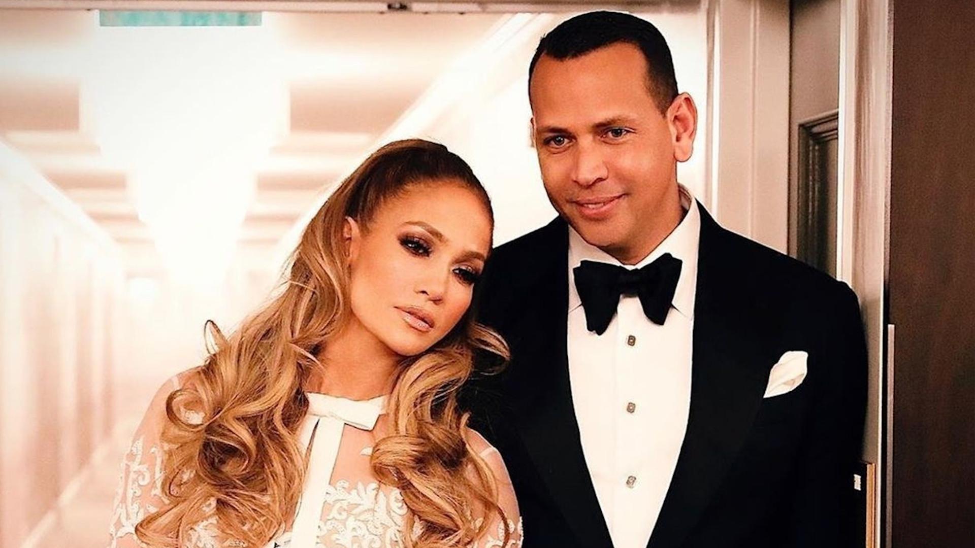 Jennifer Lopez na After Party Złotych Globów.