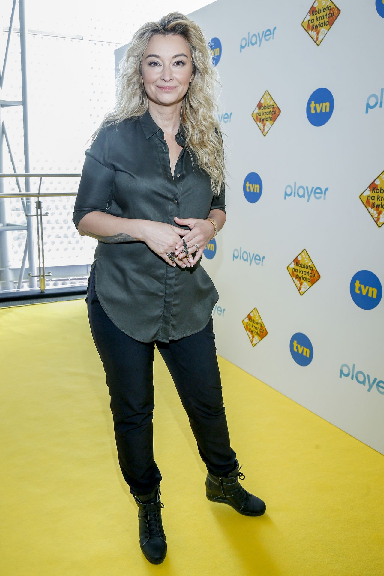 Martyna Wojciechowska promuje nowy sezon Kobiety na krańcu świata.