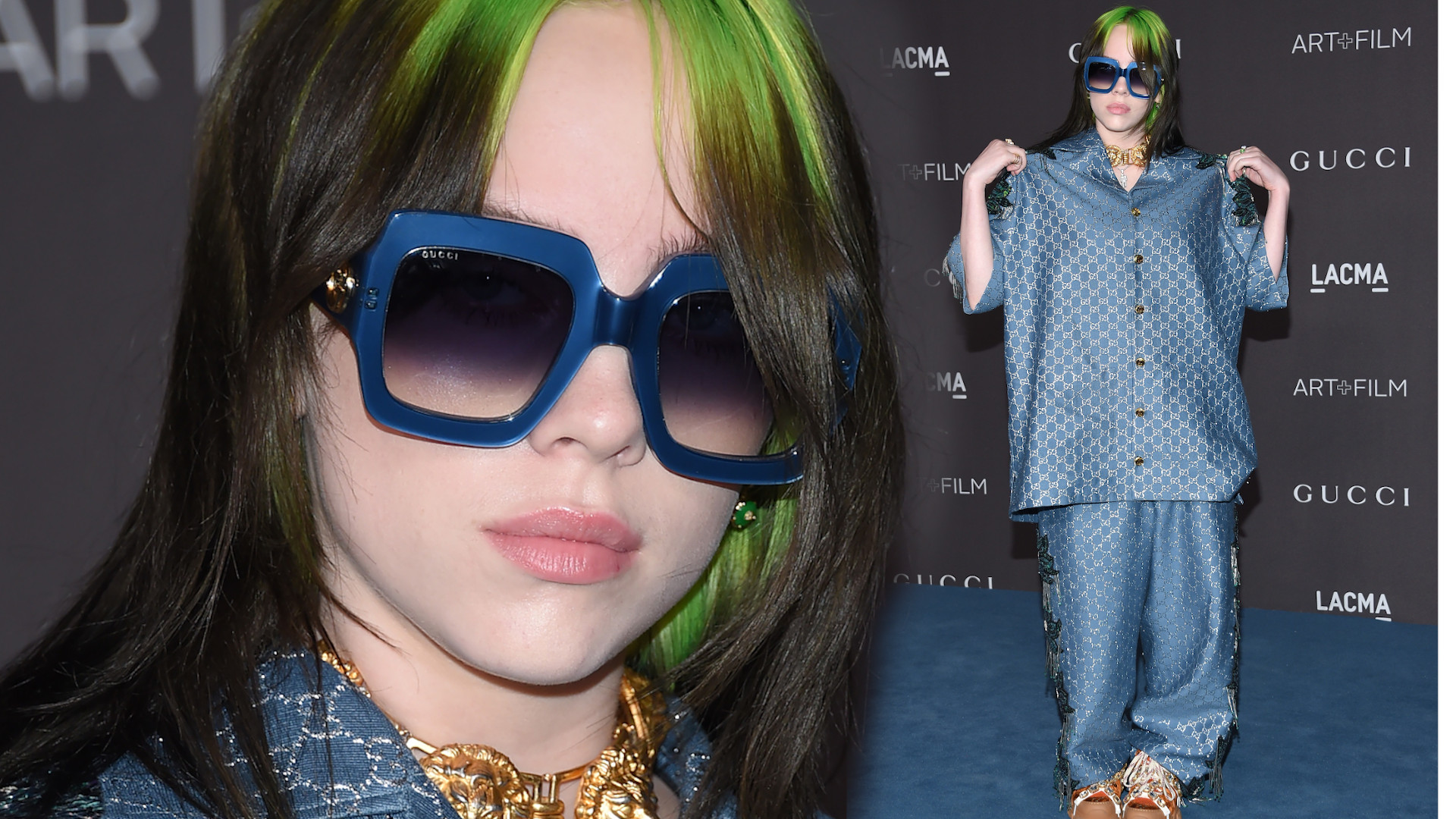 Dlaczego Billie Eilish nosi ZA DUŻE ubrania?