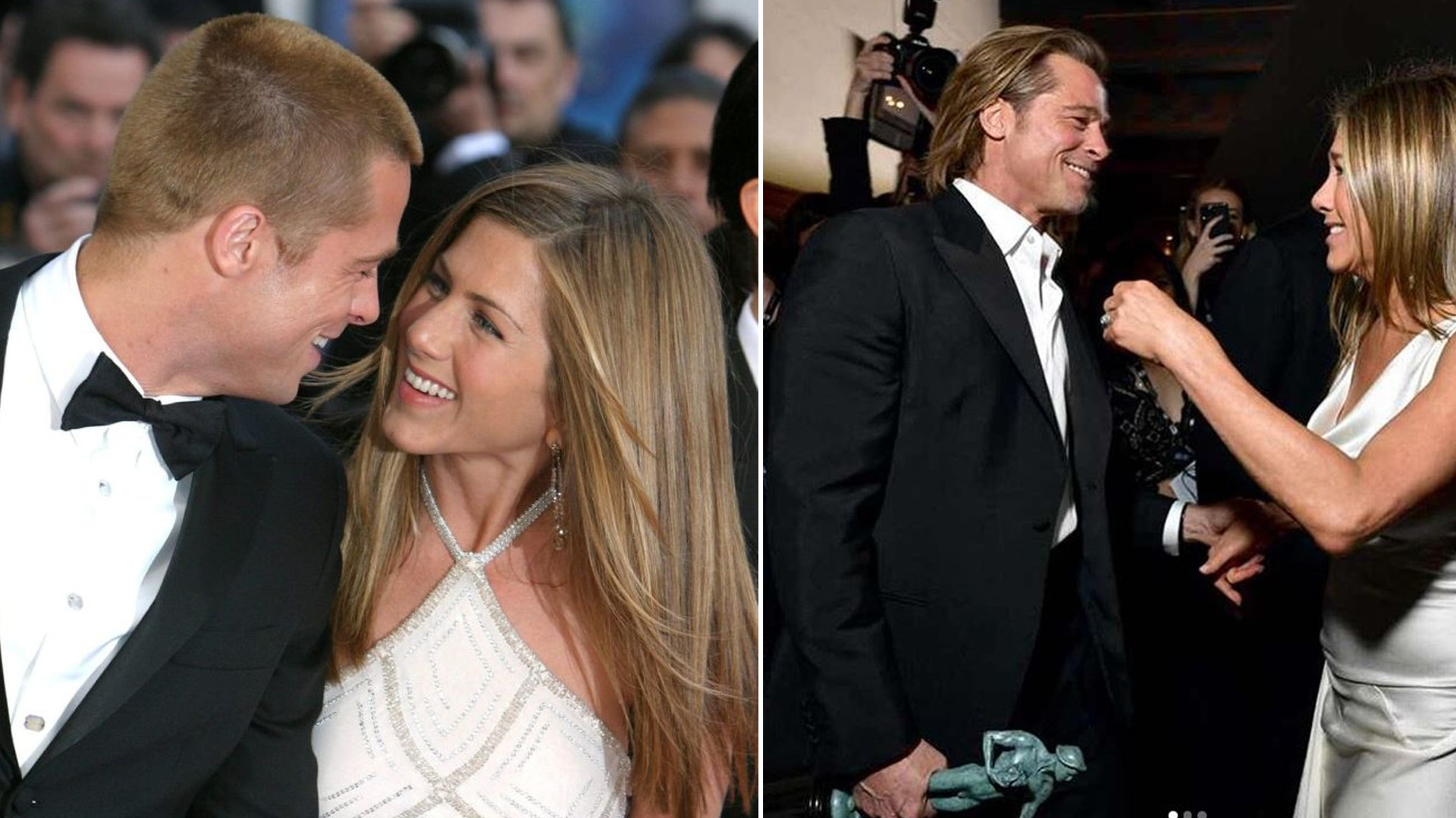 Brad Pitt i Jennifer Aniston 18 lat temu i dziś! Jedna rzecz się nie zmieniła…