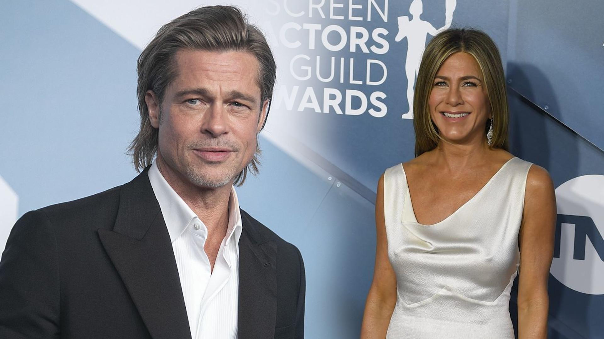 Pitt z ZACIEKAWIENIEM oglądał przemówienie Aniston. Co na to aktorka?