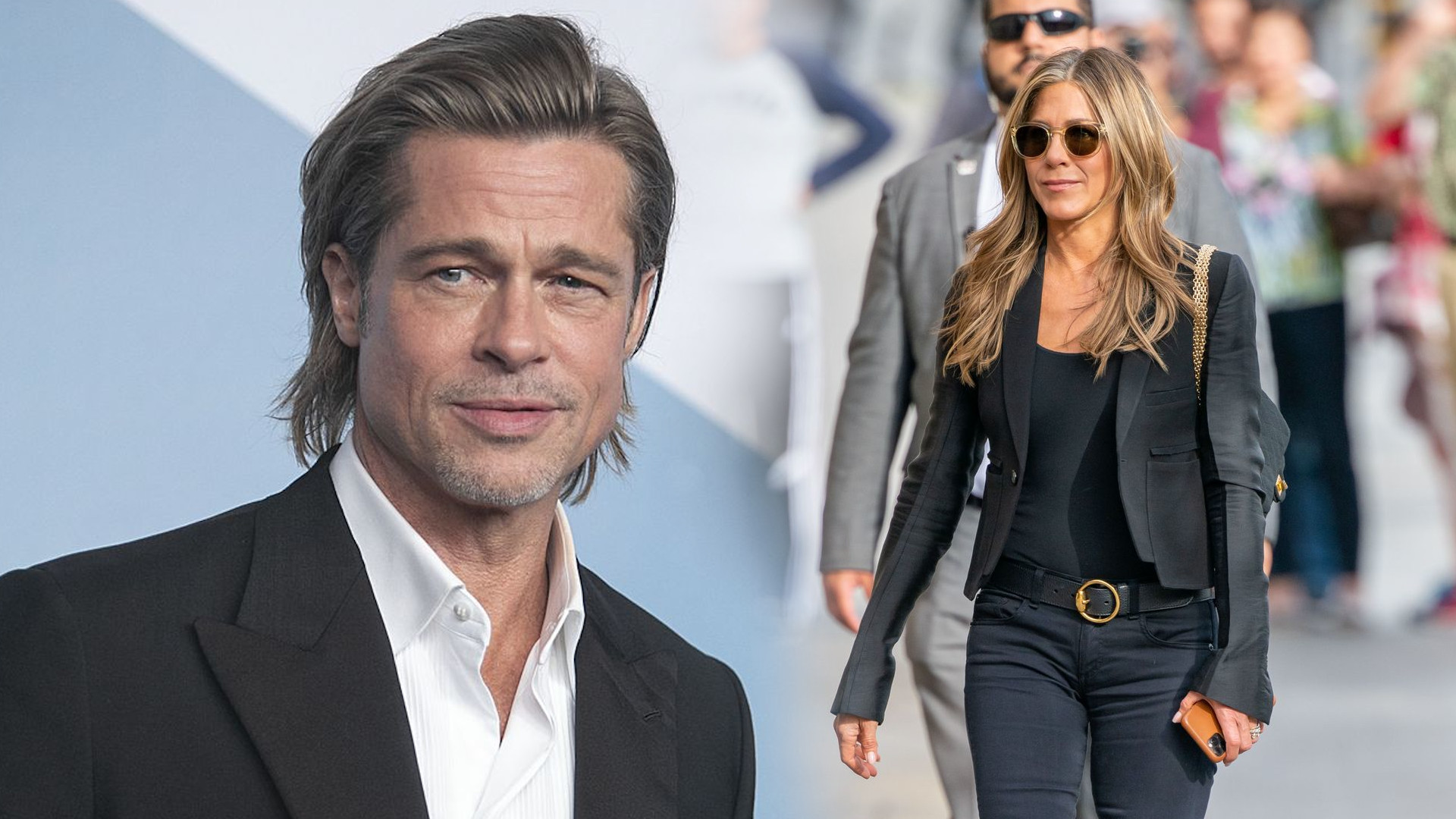 Brad Pitt KOMENTUJE zdjęcia zrobione z Jennifer Aniston na SAG