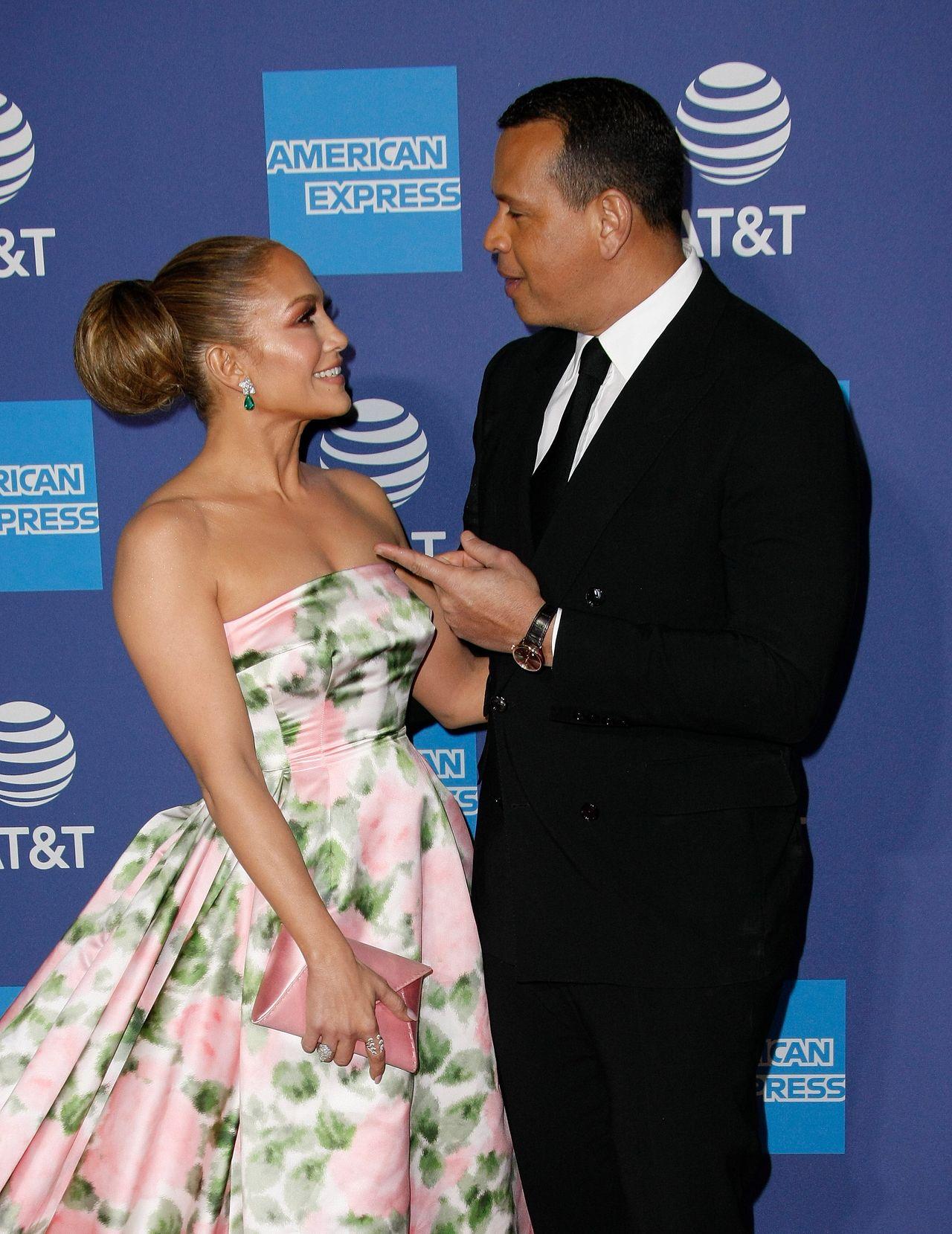 Jennifer Lopez i Alex Rodriguez na festiwalu w Palm Springs