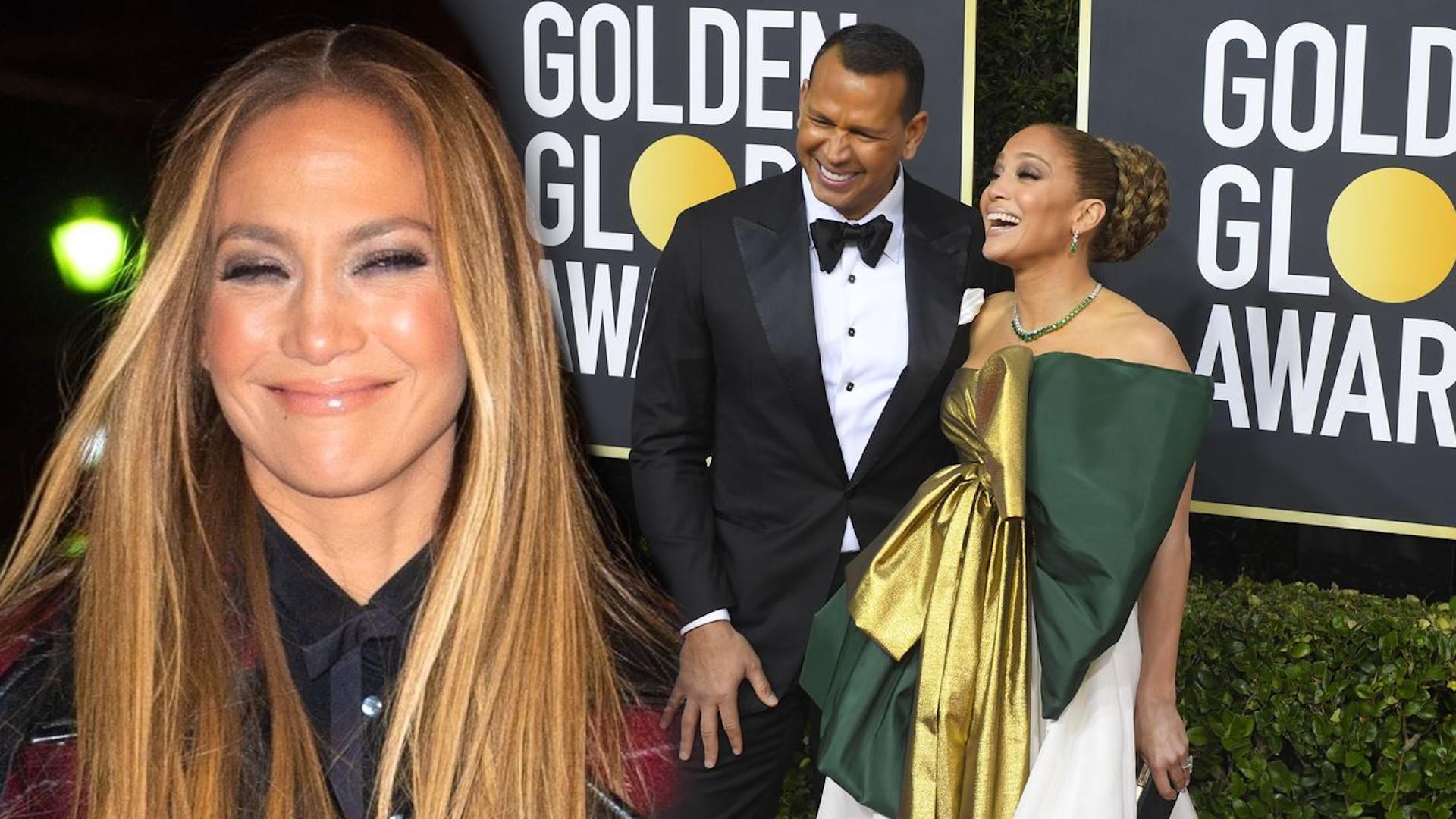 Narzeczony Jennifer Lopez komentuje przegraną gwiazdy na Złotych Globach