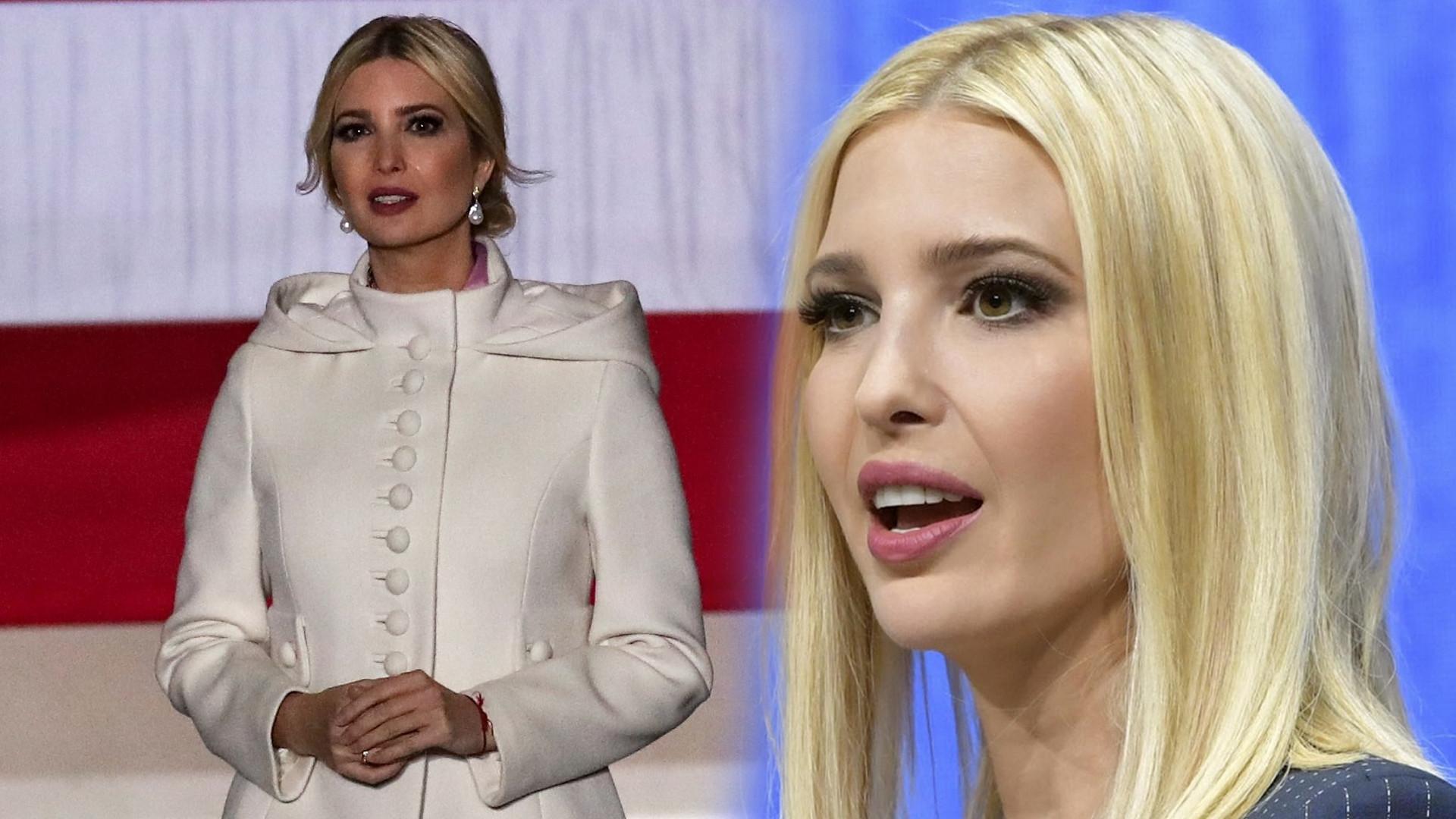 Ivanka Trump znowu zrobiła coś z twarzą? (FOTO)