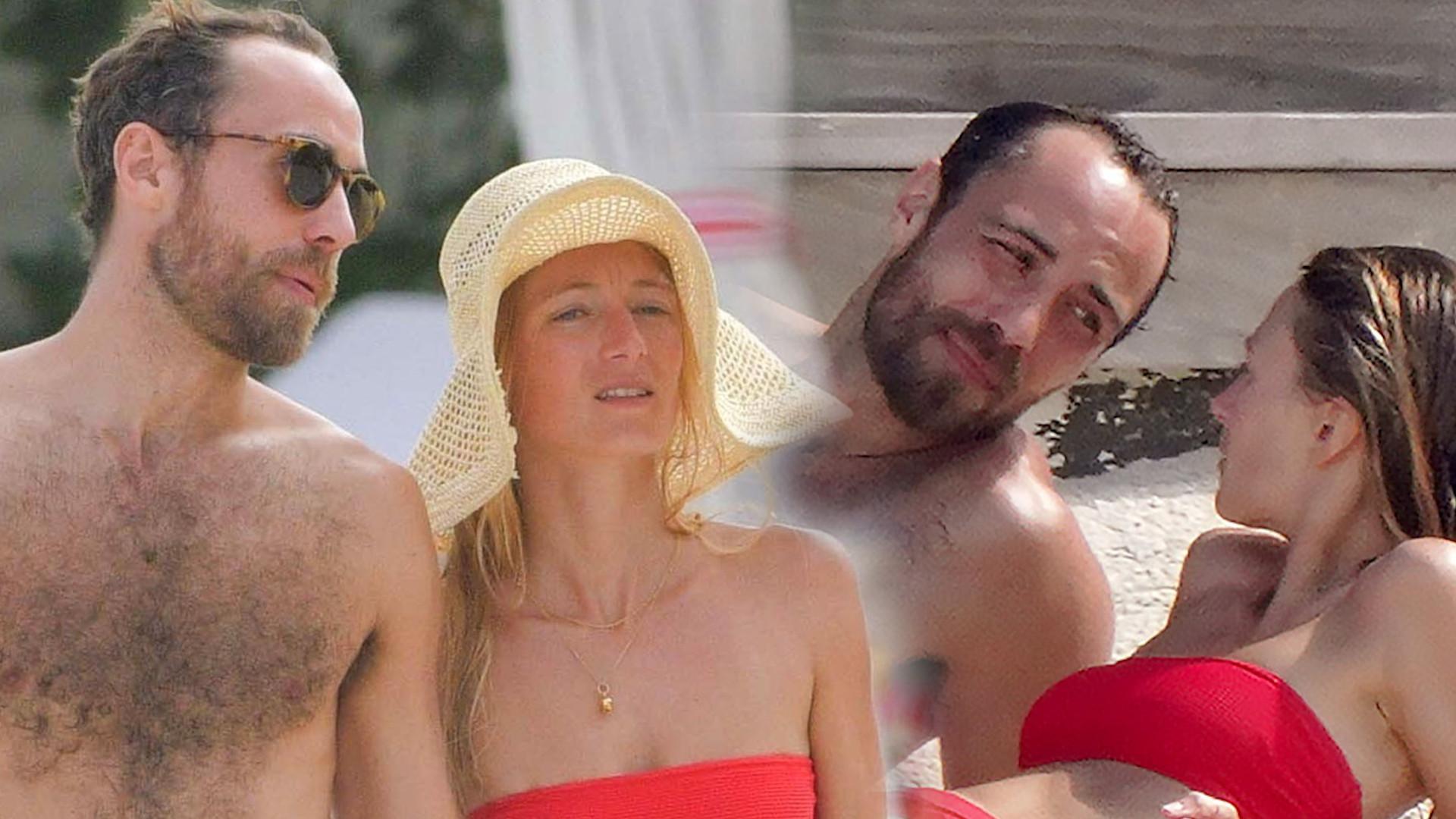 James Middleton z narzeczoną na wakacjach. Ale ona ma FIGURĘ! (ZDJĘCIA)