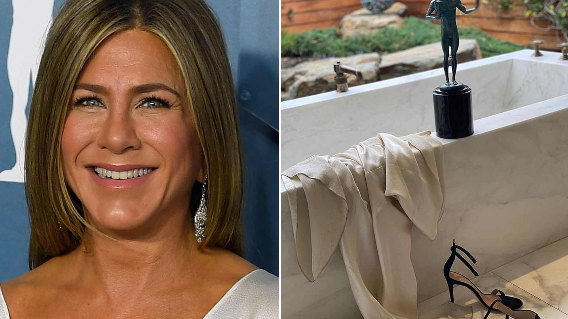 Piękna łazienka i OGROMNA garderoba – Jennifer Aniston pokazuje na Instagramie SWÓJ DOM