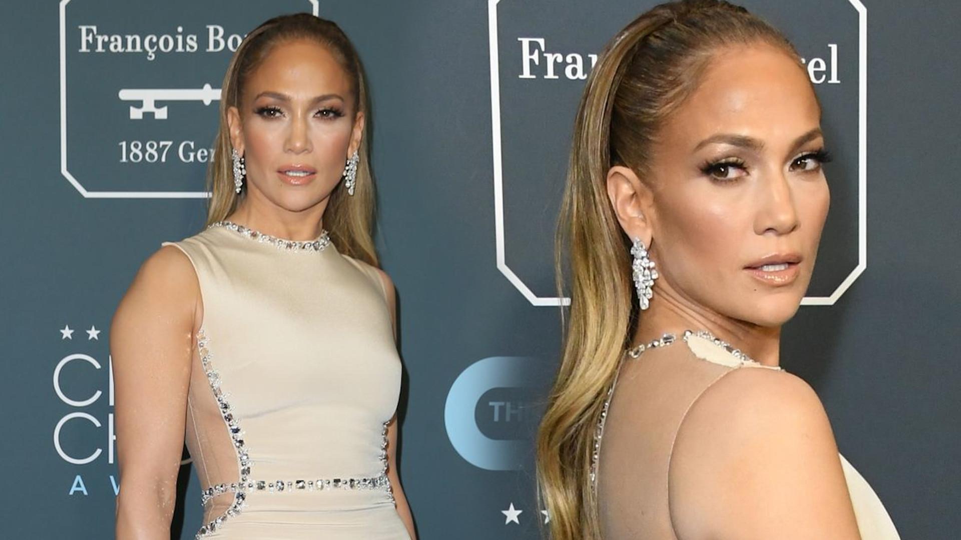 Jennifer Lopez tym razem NIE zawiodła kreacją. Jej PUPA wyglądała BOSKO! (ZDJĘCIA)