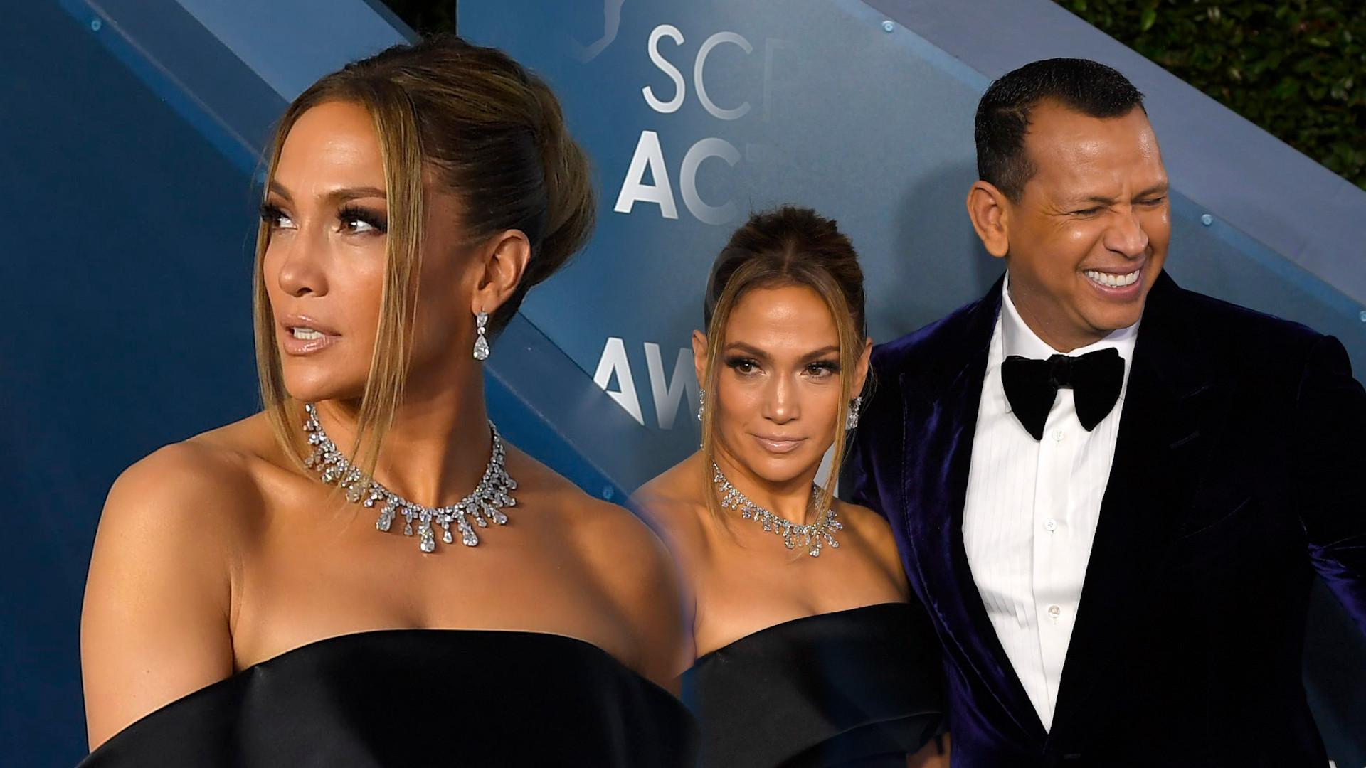 KLASA I SZYK! Jennifer Lopez w długiej kreacji na SAG Awards (ZDJĘCIA)