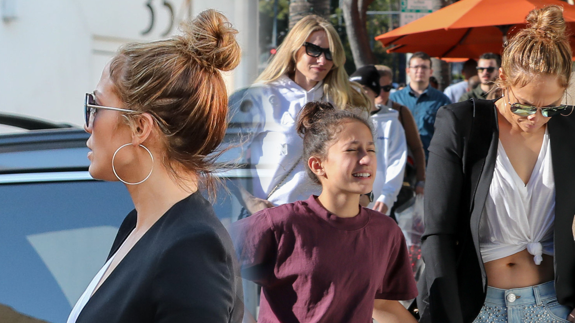 Te spodnie Jennifer Lopez skróciły jej nogi o POŁOWĘ. Poszła tak na zakupy z dziećmi (ZDJĘCIA)