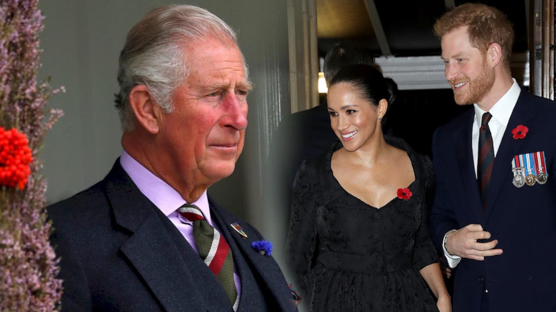 Książę Karol ODCINA księcia Harry'ego od pieniędzy