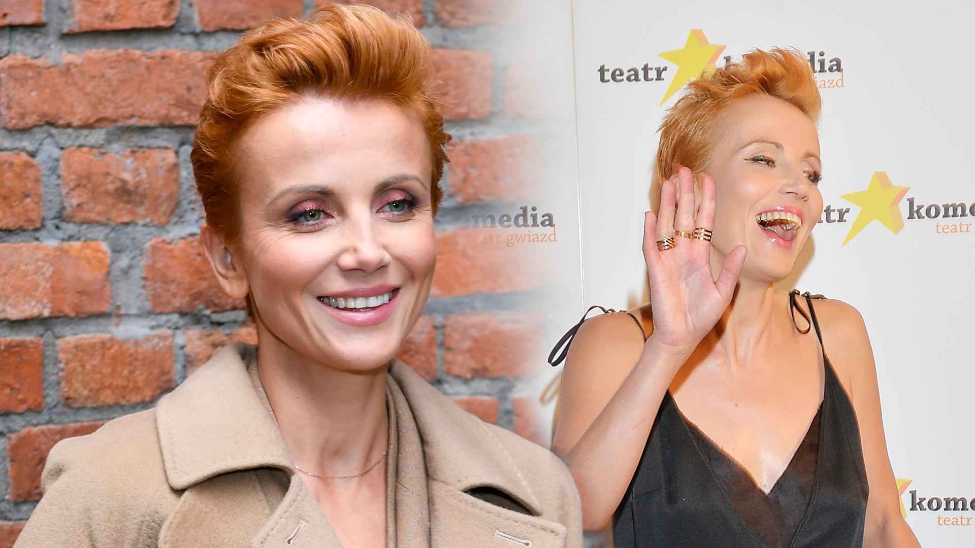 Katarzyna Zielińska jeszcze NIGDY nie miała takiej fryzury. Co za kolor włosów!