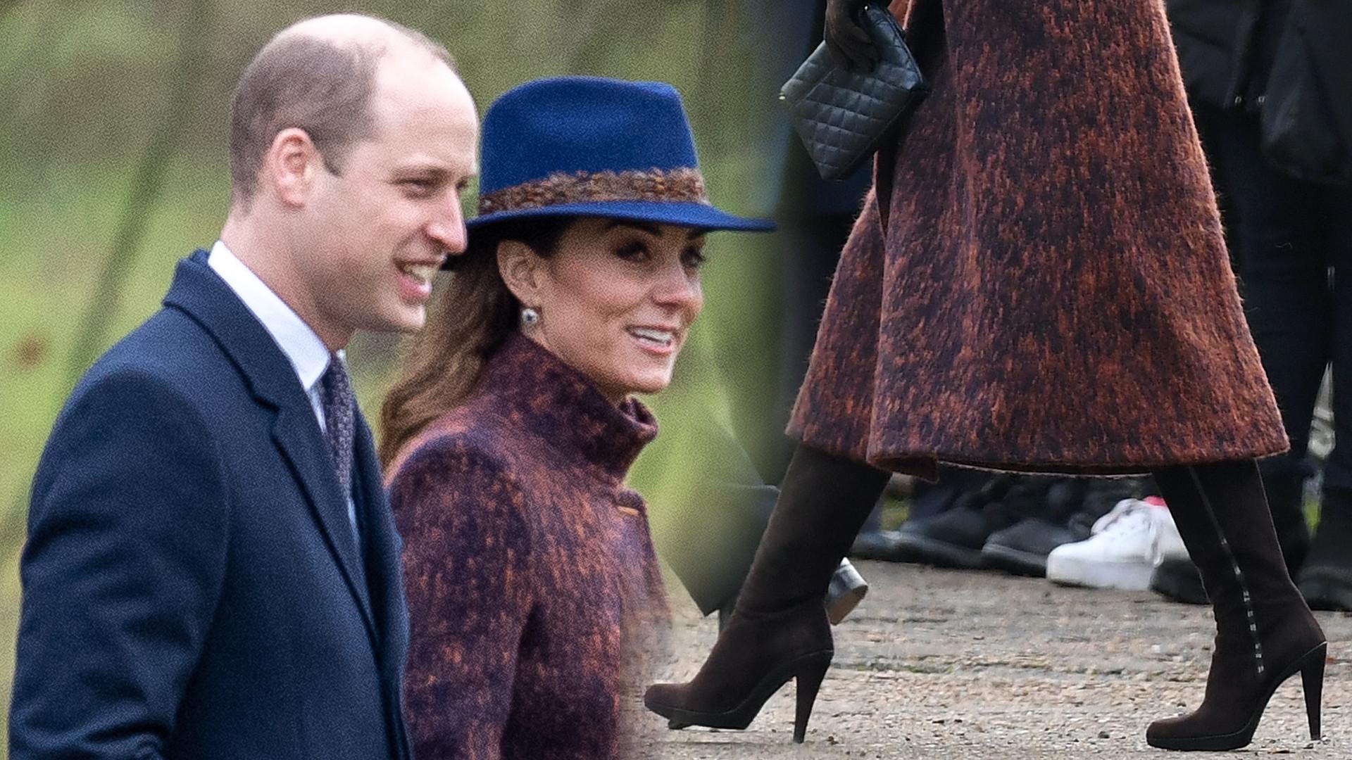 Księżna Kate w kościele z księciem Williamem. Pojawiła się też jego rzekoma KOCHANKA