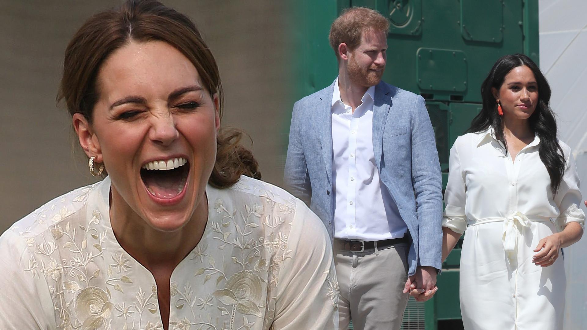 Księżna Kate znów udowodniła, że jej relacje z Meghan i Harrym są ZŁE