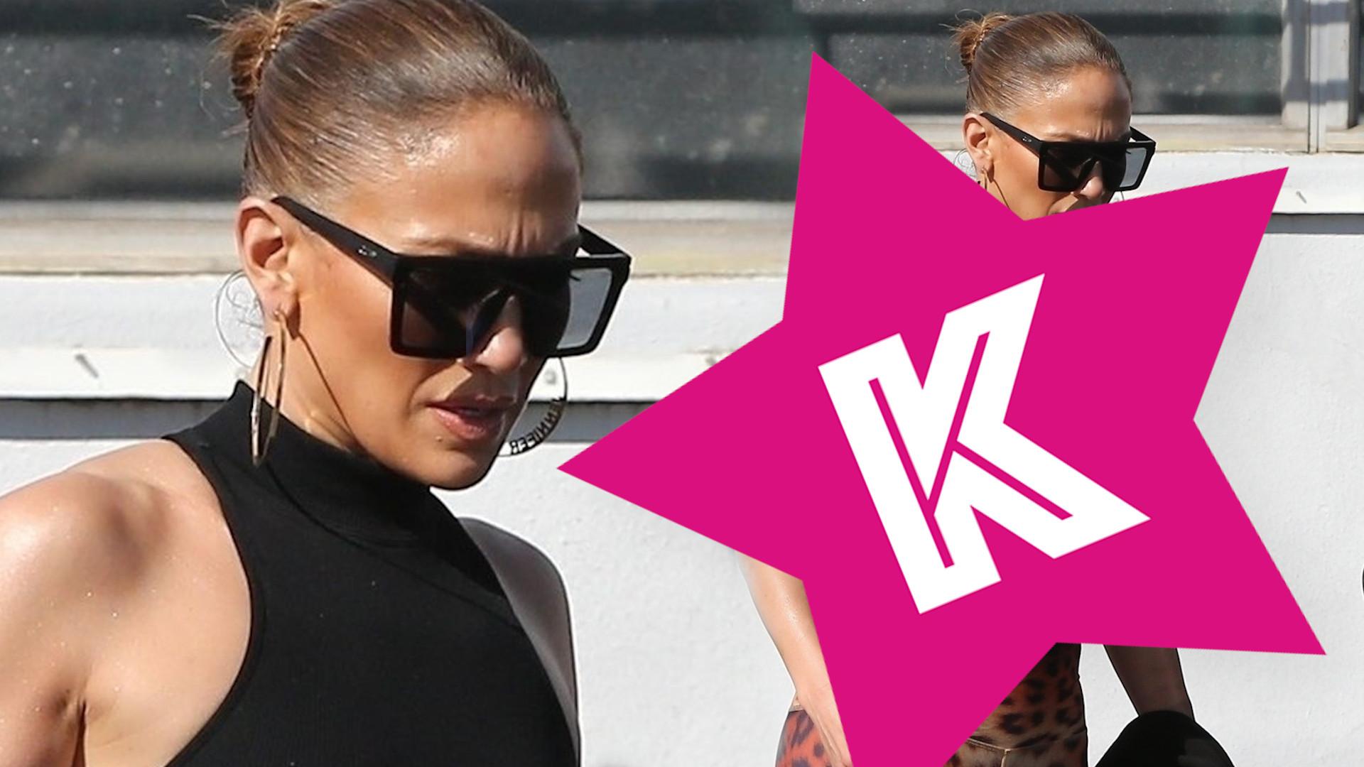 Jennifer Lopez chwali się UMIĘŚNIONYM brzuchem!