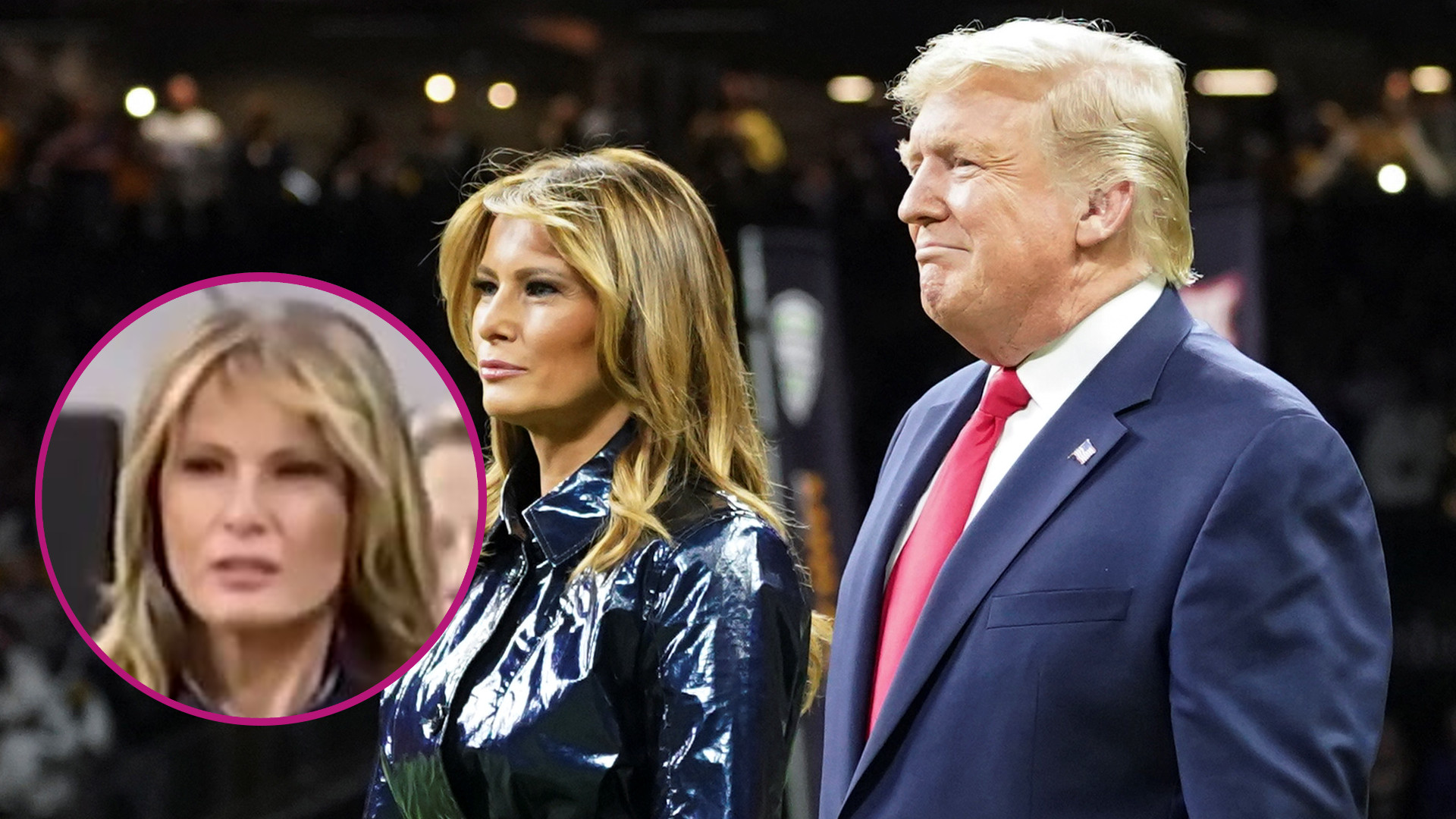 Internet HUCZY dziś na temat tego GESTU Melanii Trump względem Donalda