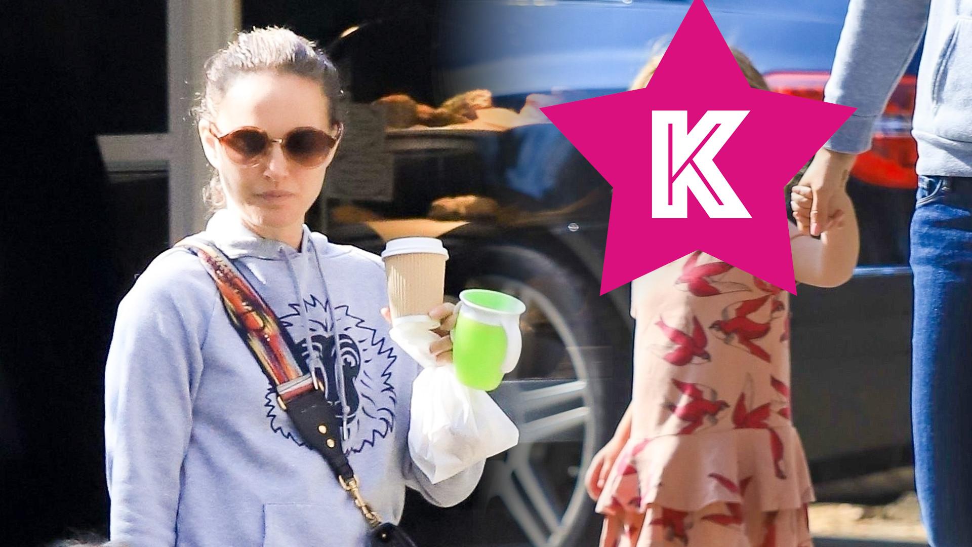 Natalie Portman z 3-letnią córką Amalią. Dziewczynka bardzo urosła! (ZDJĘCIA)