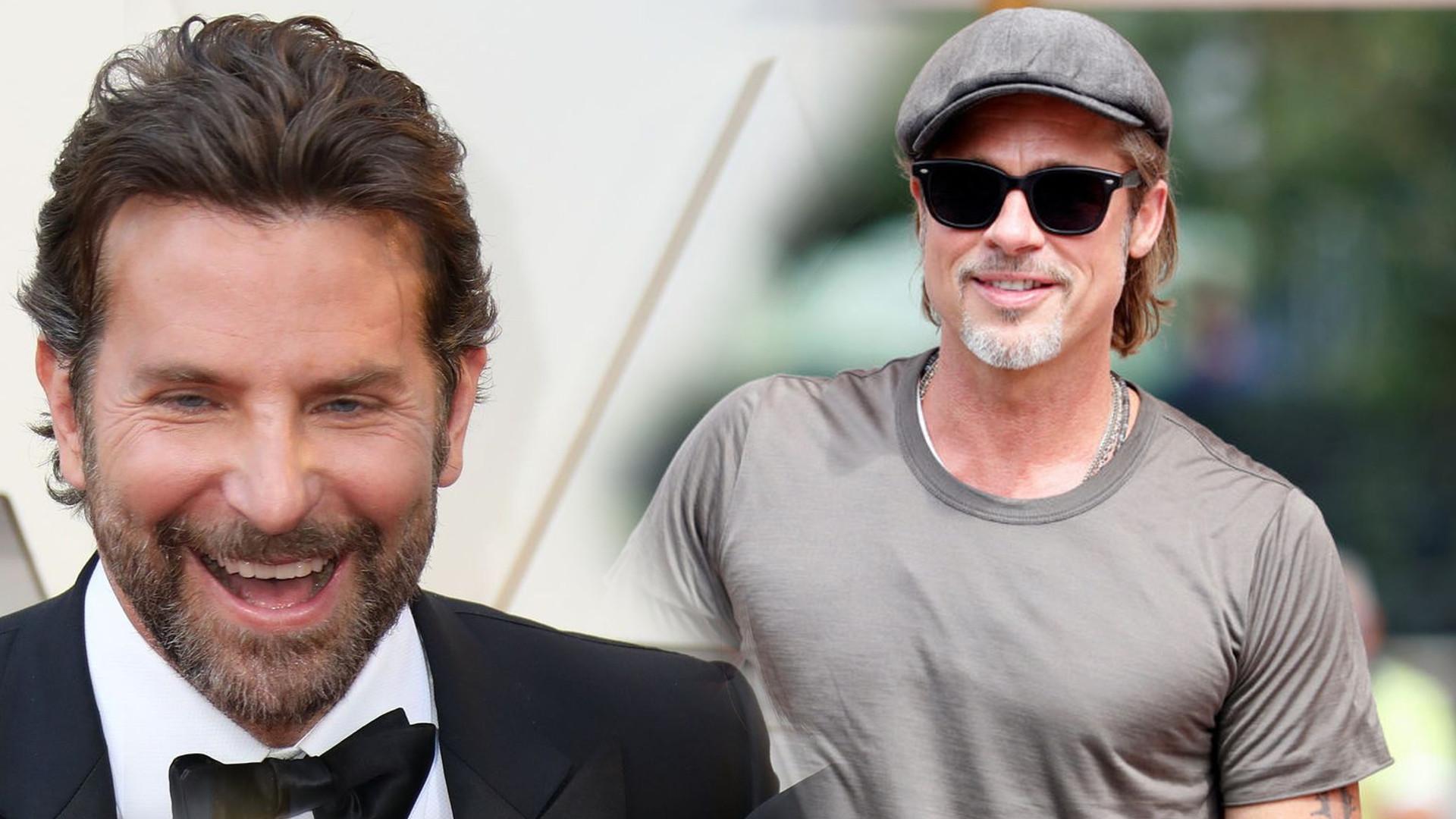 Brad Pitt jest wdzięczny Bradley'owi Cooper'owi za zachęcanie go do trzeźwości
