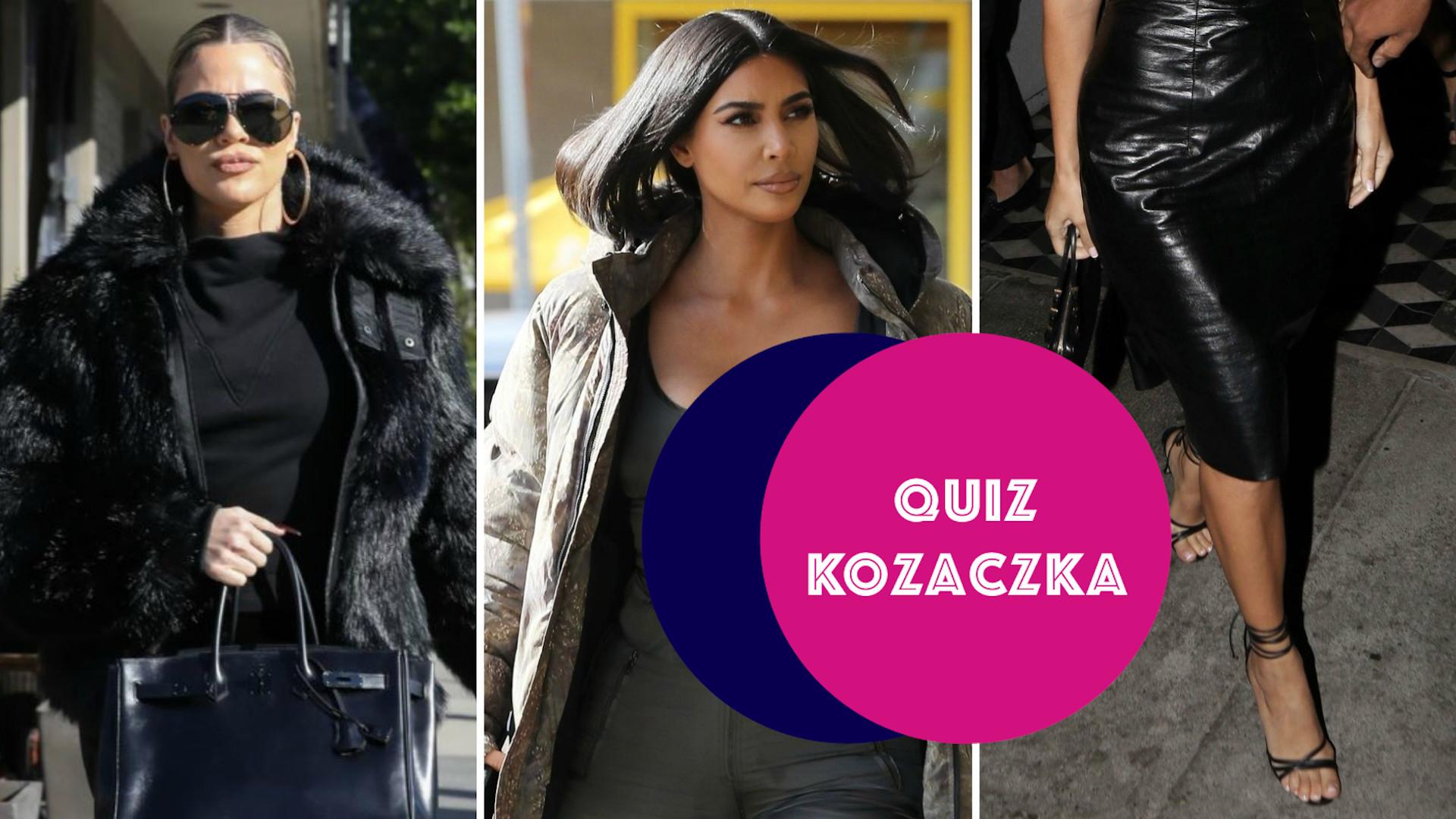 Zgadnij, która z nich jest najwyższa! Trudny test wiedzy o Kardashiankach (QUIZ)