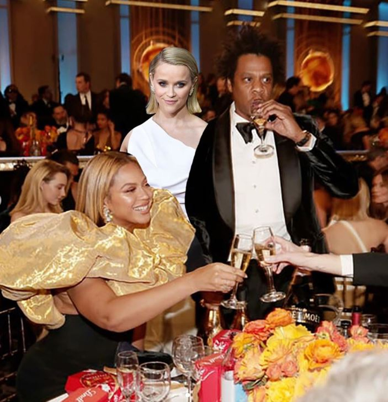 Reese Witherspoon Jay-Z Beyonce