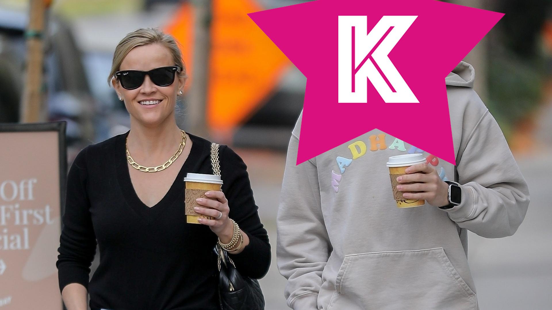 Ale przystojniak! Reese Witherspoon z 16-letnim synem Deaconem (ZDJĘCIA)