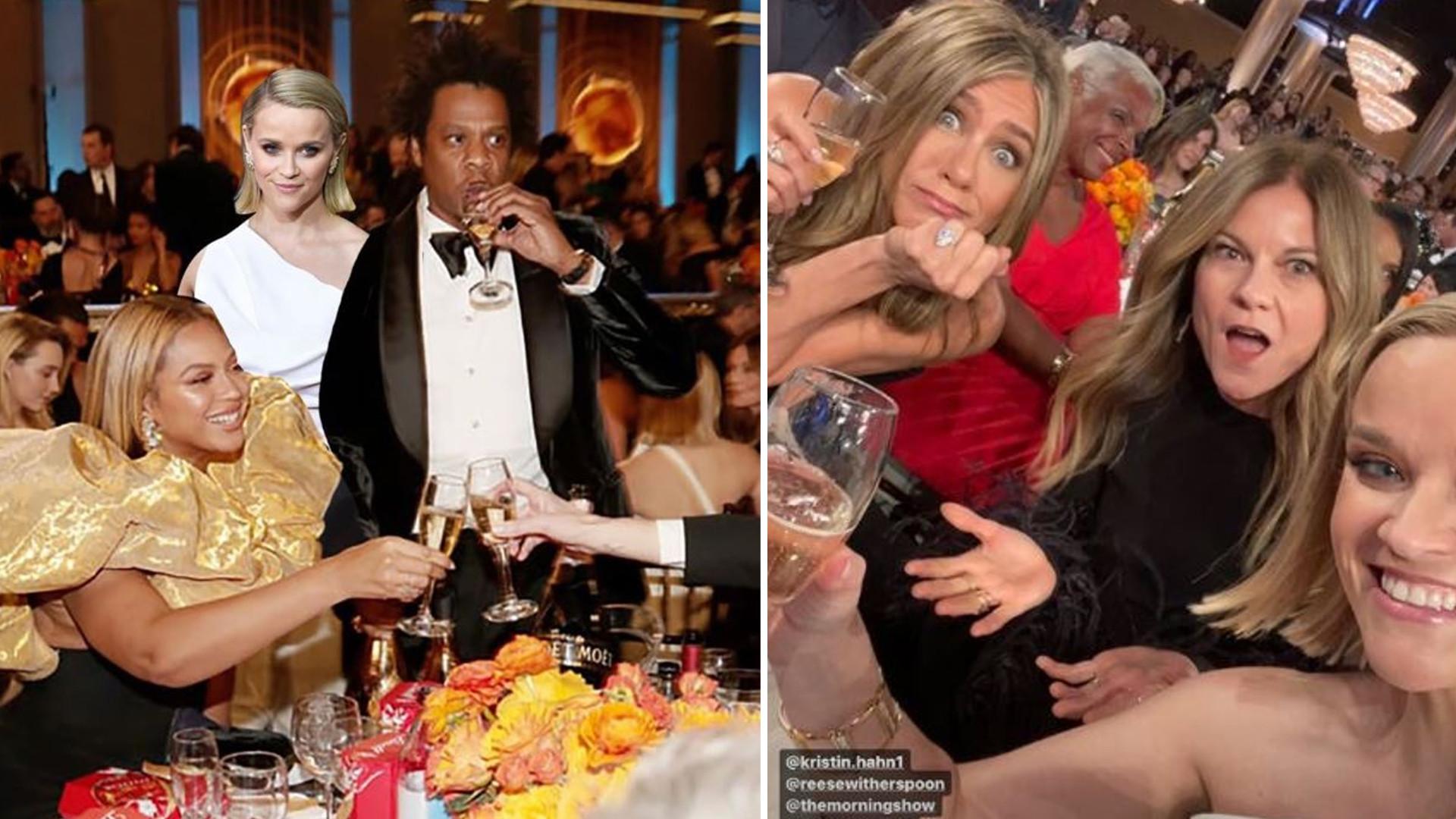 Beyoncé wysłała Reese Witherspoon skrzynkę szampana po ich pogawędce na Złotych Globach