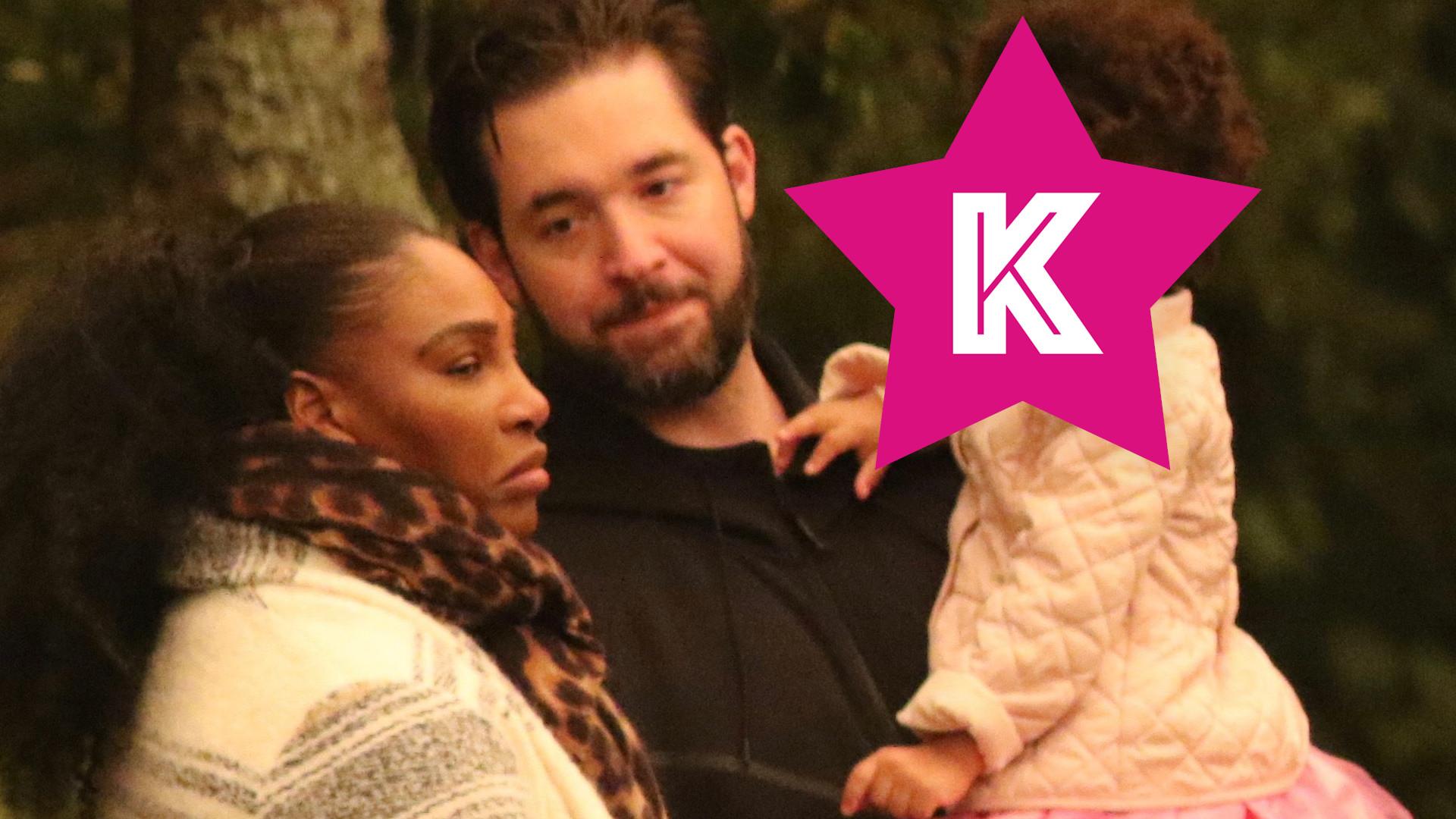 Serena Williams z mężem i córeczką w zoo. 2-letnia Alexis Olympia jest przeurocza (ZDJĘCIA)