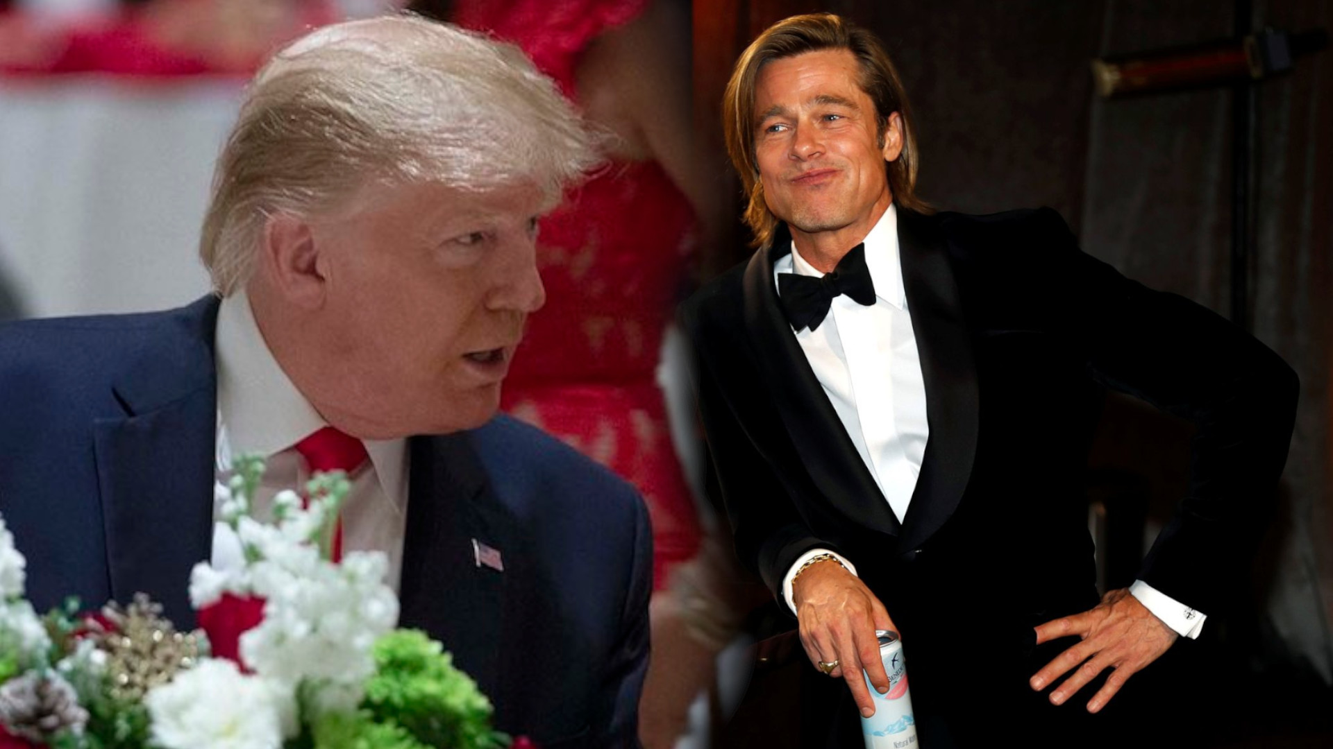 Donald Trump OSTRO POJECHAŁ Brada Pitta za przemowę na OSCARACH