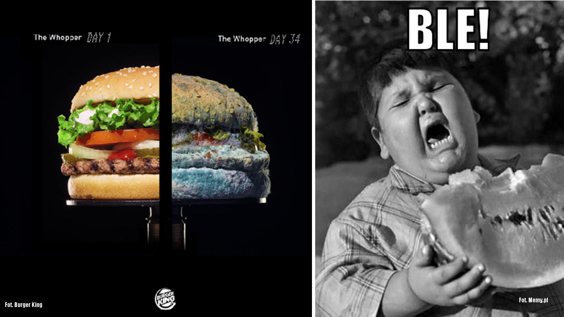 Burger King w 45 sekund pokazuje, jak PLEŚNIEJE Whopper