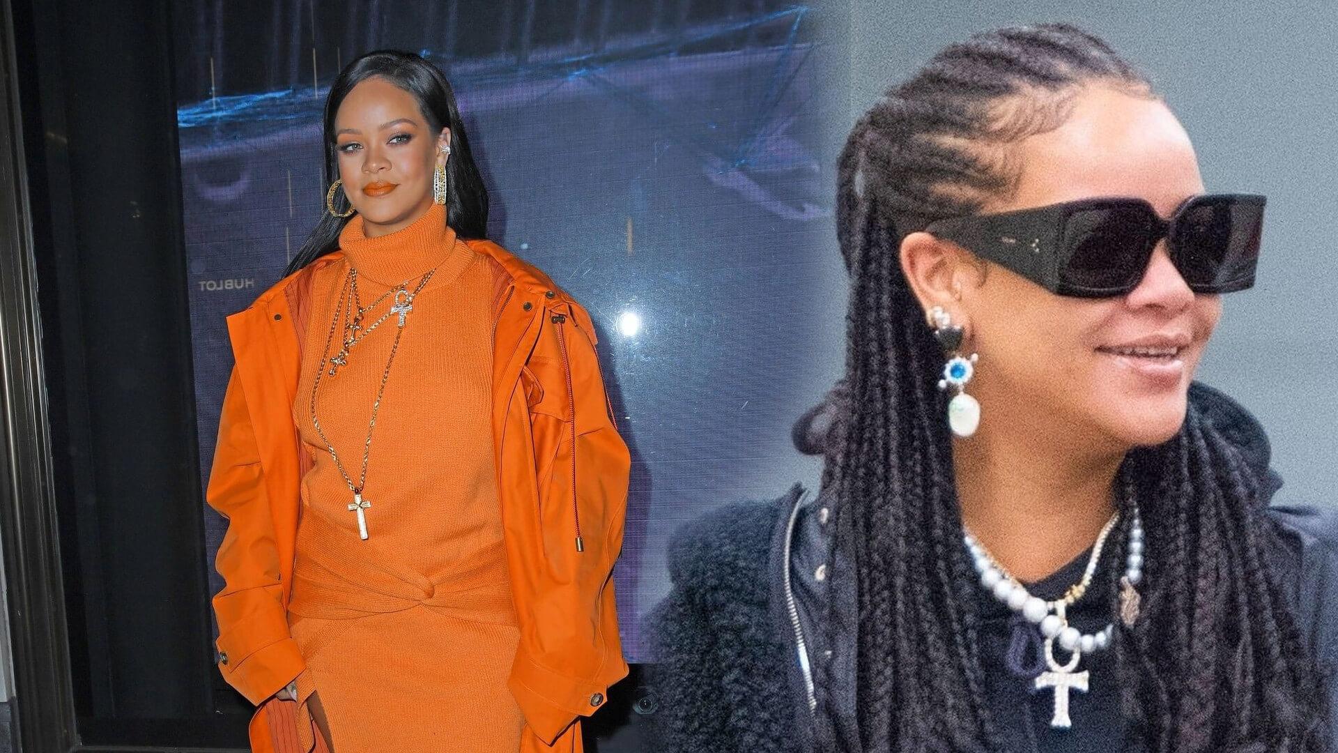 Rihanna tak cieszy się na swój tort urodzinowy. Diva postanowiła zatwerkować na jego cześć