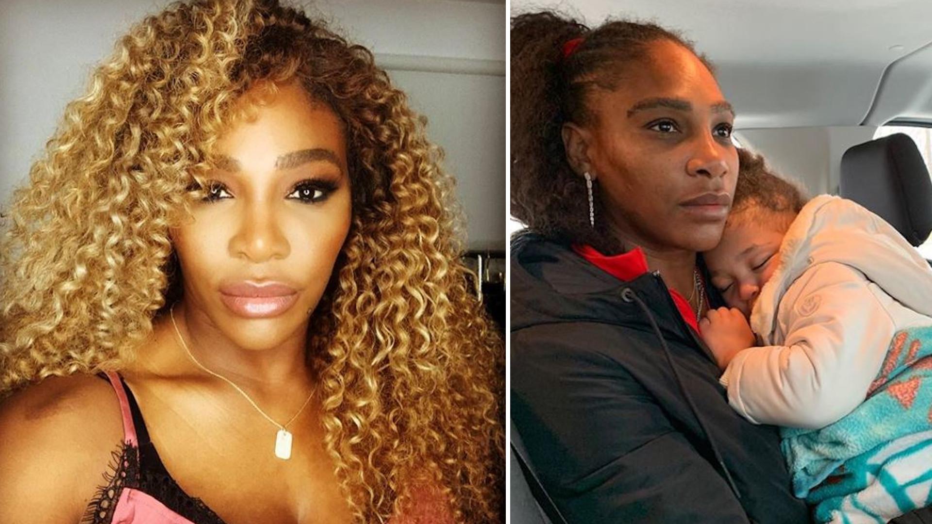Serena Williams w prawdziwych słowach o macierzyństwie. Kobiety DZIĘKUJĄ jej za ten post