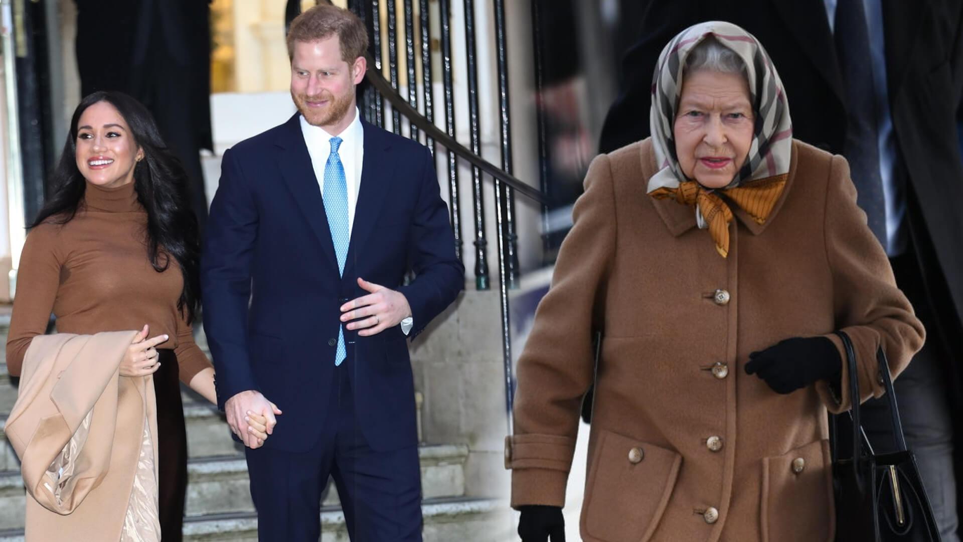 Kolejny SKANDAL w rodzinie królewskiej. Harry i Meghan idą na wojnę z Królową Elżbietą