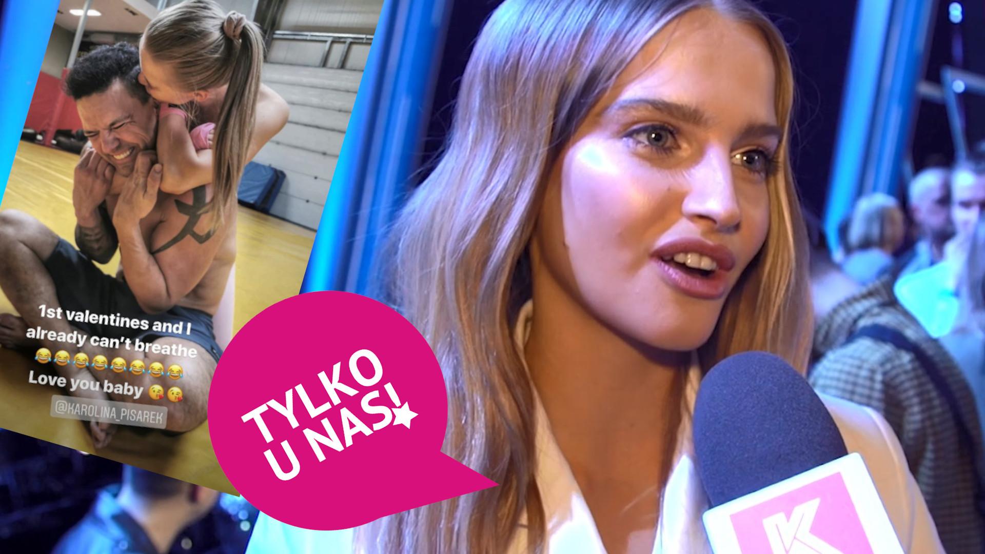 """Karolina Pisarek o nowym 40-letnim chłopaku: """"Zaczęłam coś, co daje mi szczęście i spokój"""" (WIDEO)"""