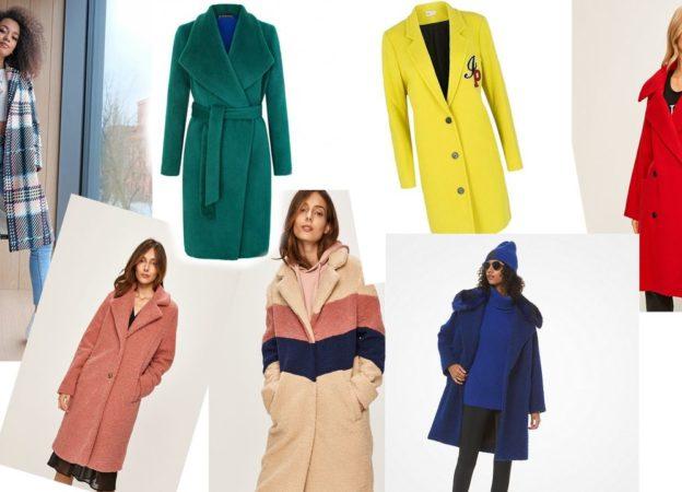 Kolorowe płaszcze - gdzie je kupić?