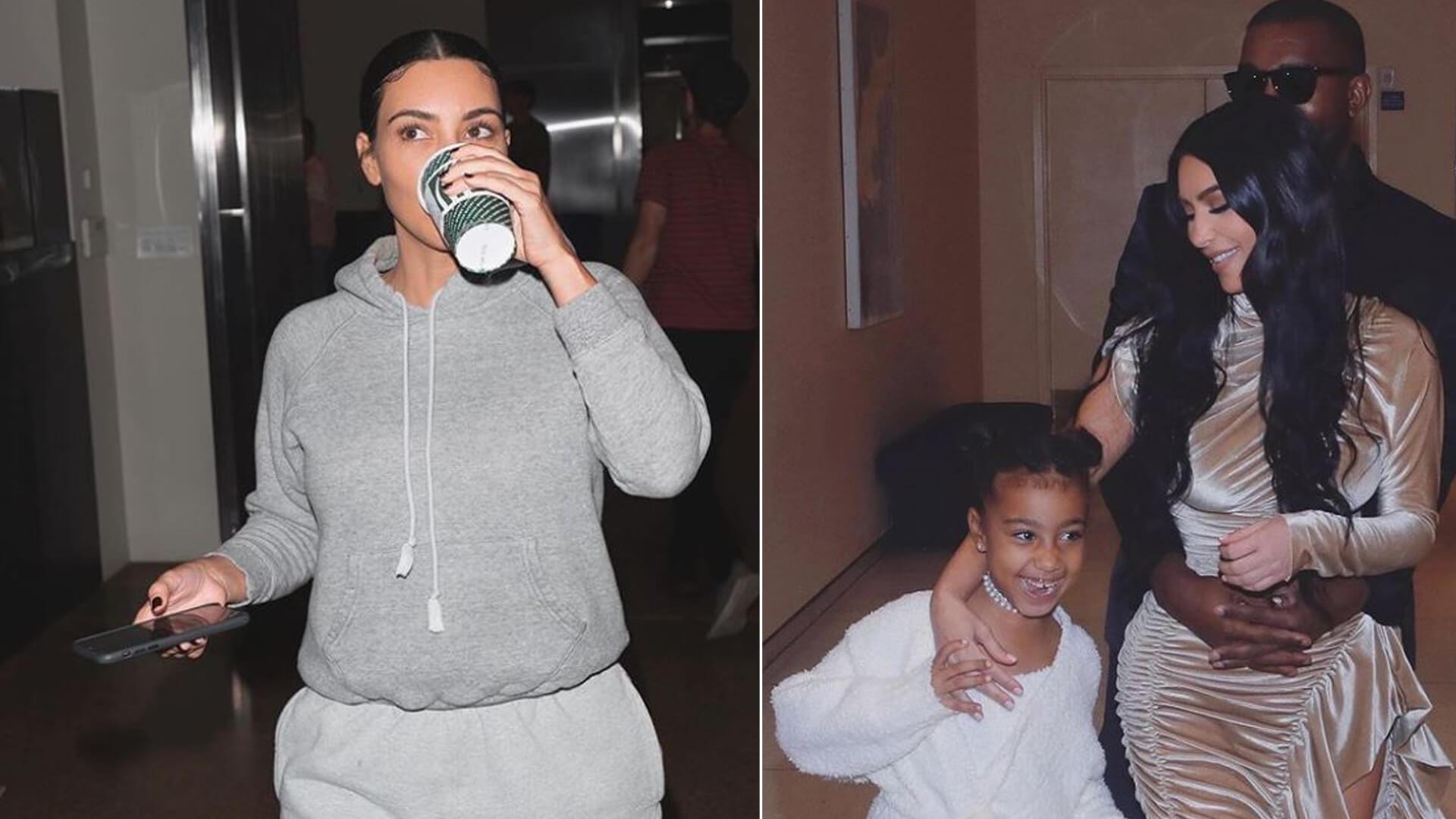 Kim Kardashian jest jak zwykła mama. Zrobiła to samo, co Księżna Kate (INSTAGRAM)