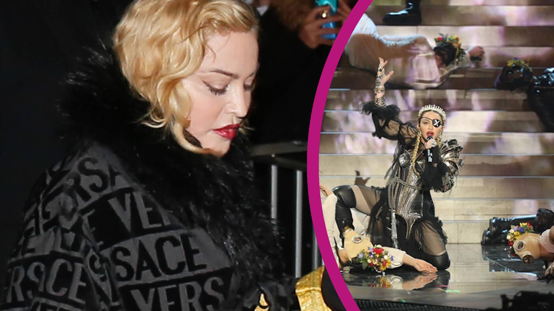 Szaleństwa na scenie dają się we znaki Madonnie. Artystka chodzi o LASCE