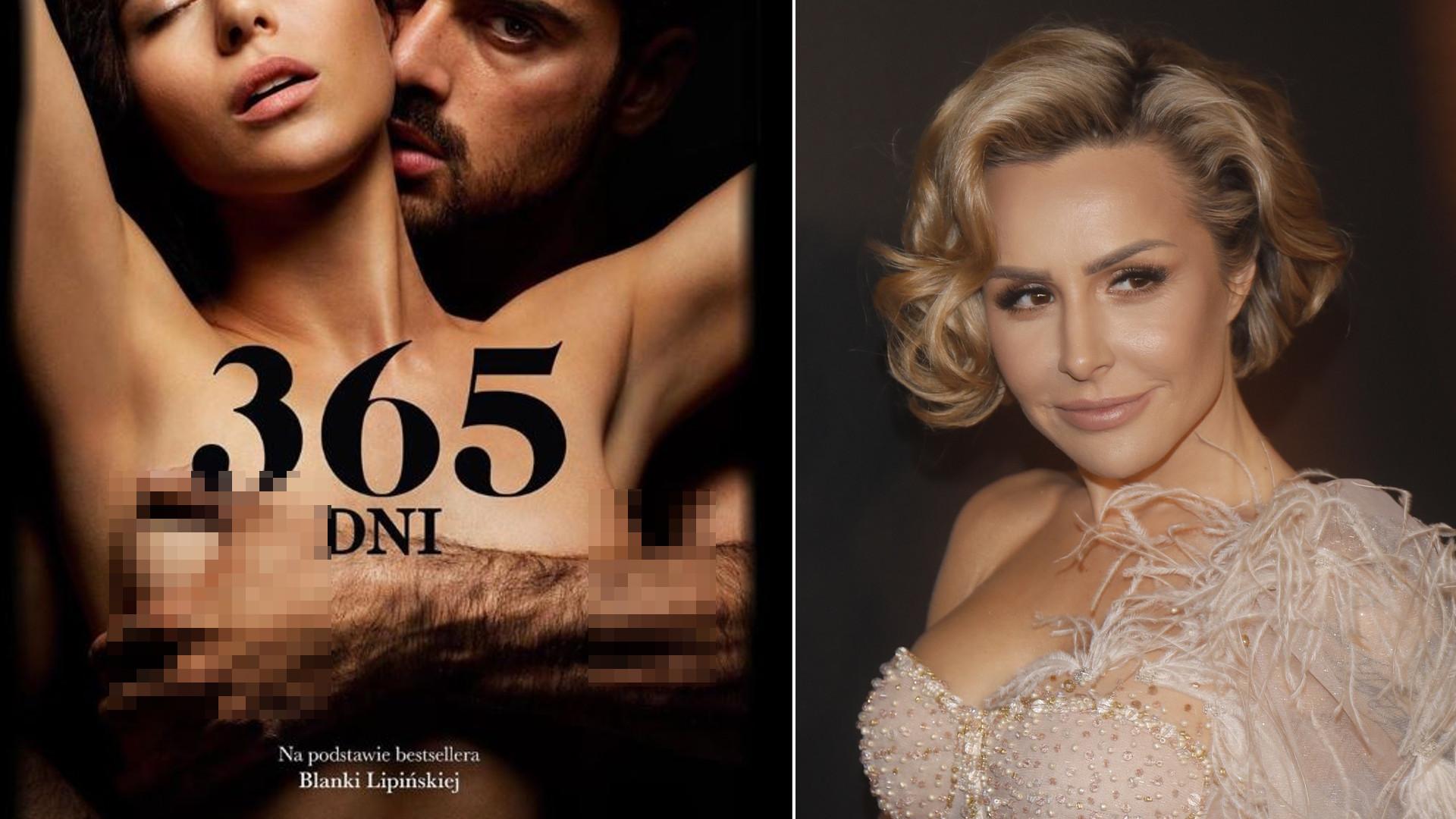 """Blanka Lipińska w oszałamiającej sukni na premierze filmu """"365 dni"""" (FOTO)"""