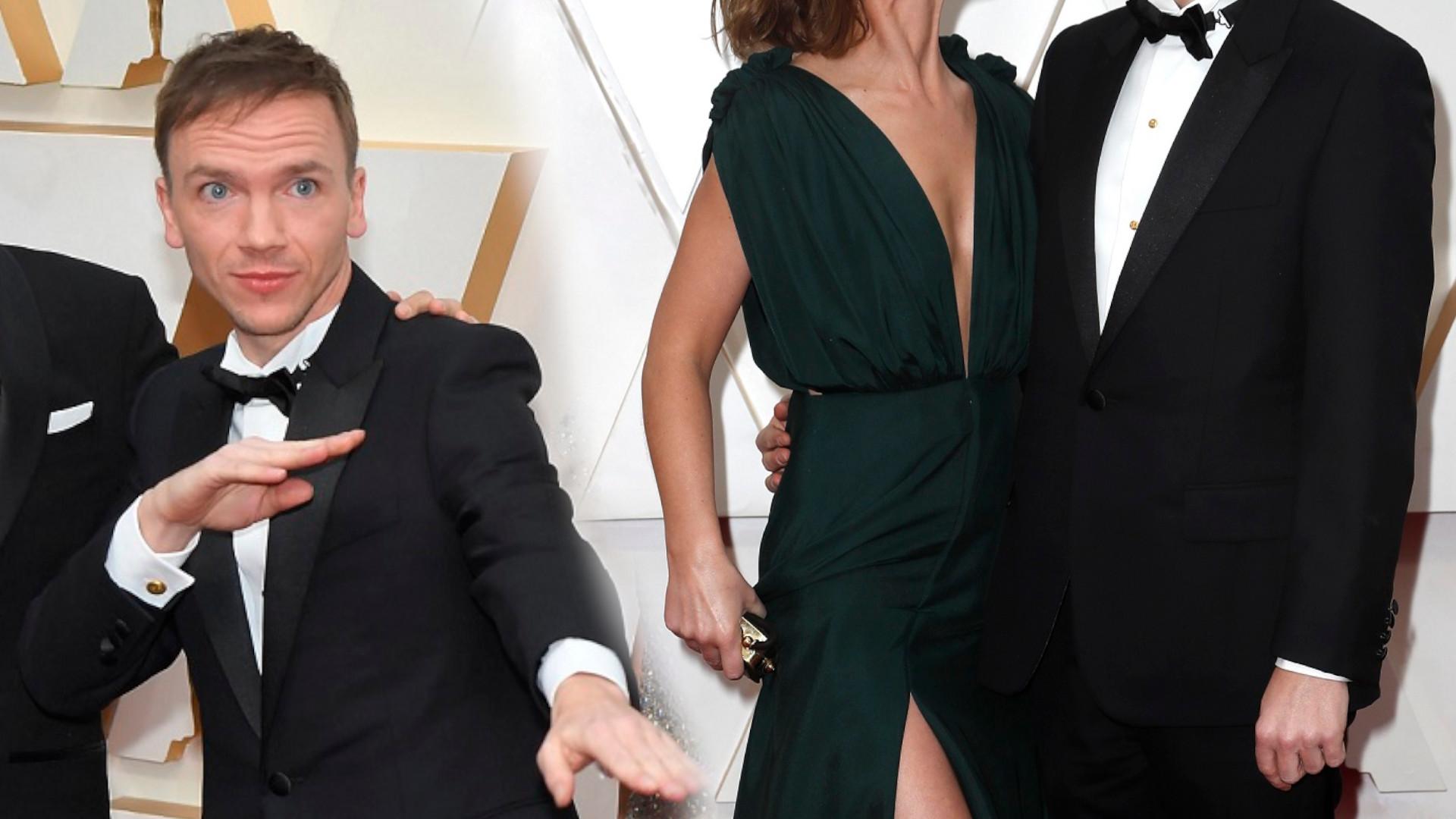 Jan Komasa ma przepiękną żonę. Błyszczała na rozdaniu Oscarów