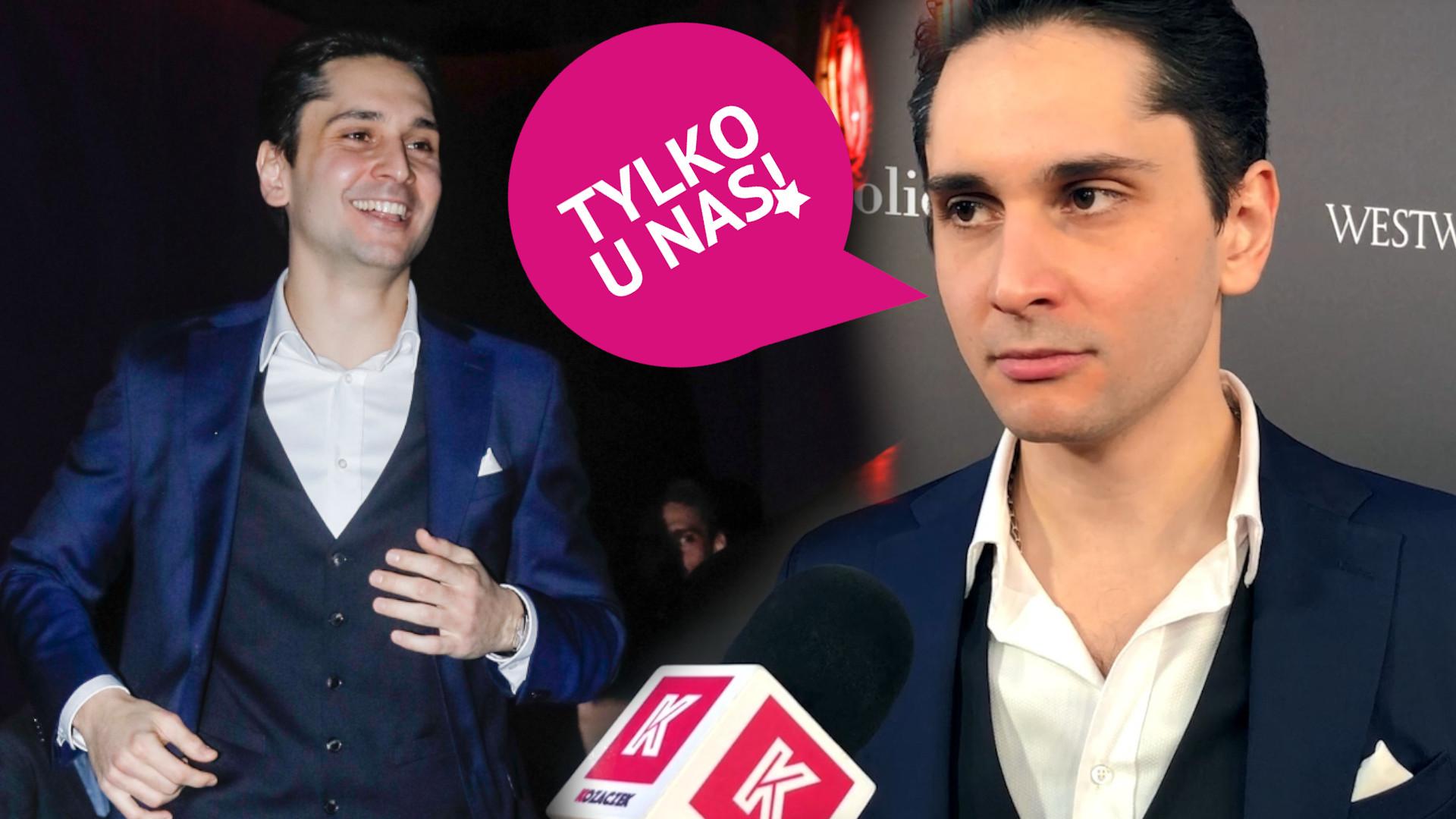 """Poznajcie Otara Saralidze, który zagrał Domenico w filmie """"365 dni"""". Lipińska nie pozwoliła mu zagrać, tak jak on chciał!"""